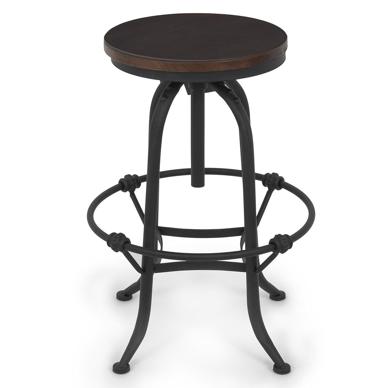 Belleze Adjustable Height Swivel Bar Stool eBay : 1 from www.ebay.com size 1300 x 1300 jpeg 128kB