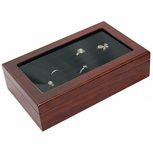 ikee design wooden ring inserts organizer jewelry box ebay