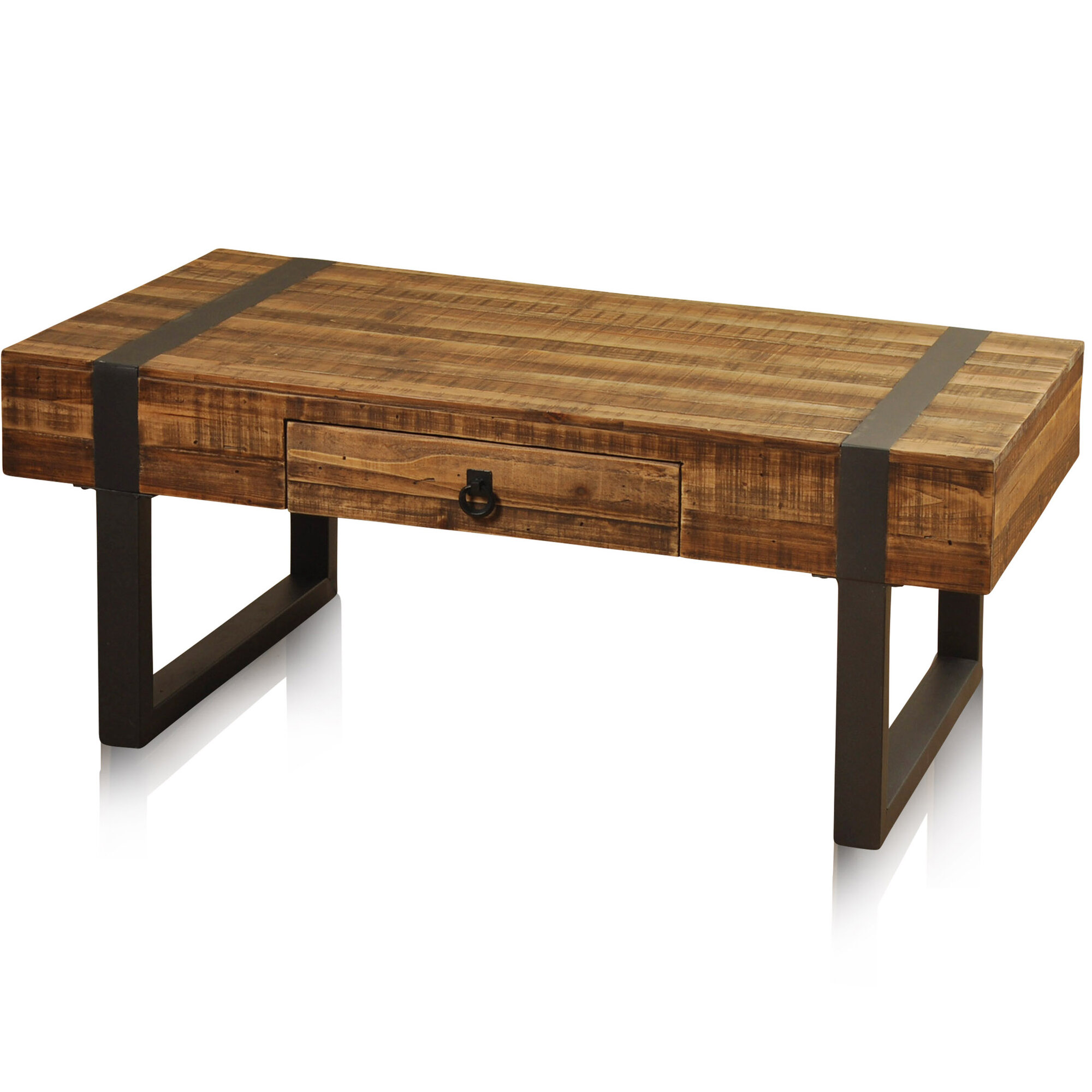 Laurel foundry modern farmhouse chatham coffee table for Modern farmhouse coffee table