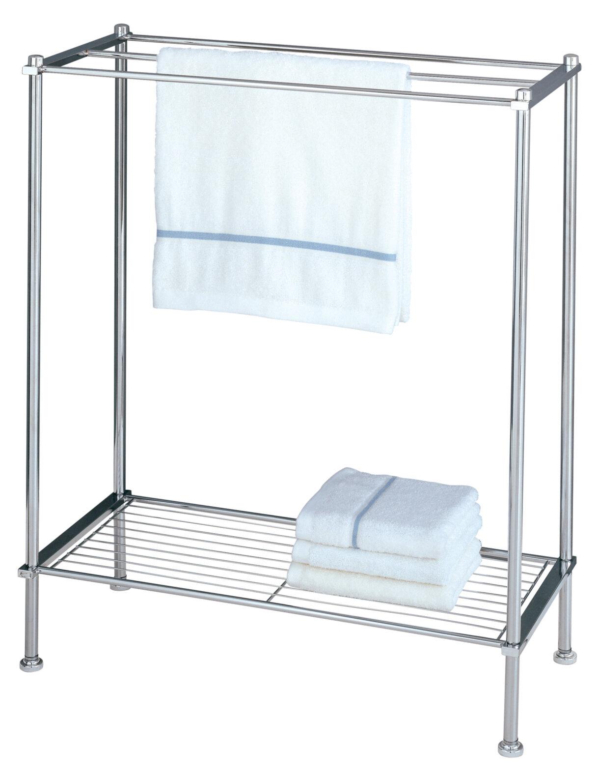 Oia Free Standing Towel Rack Ebay