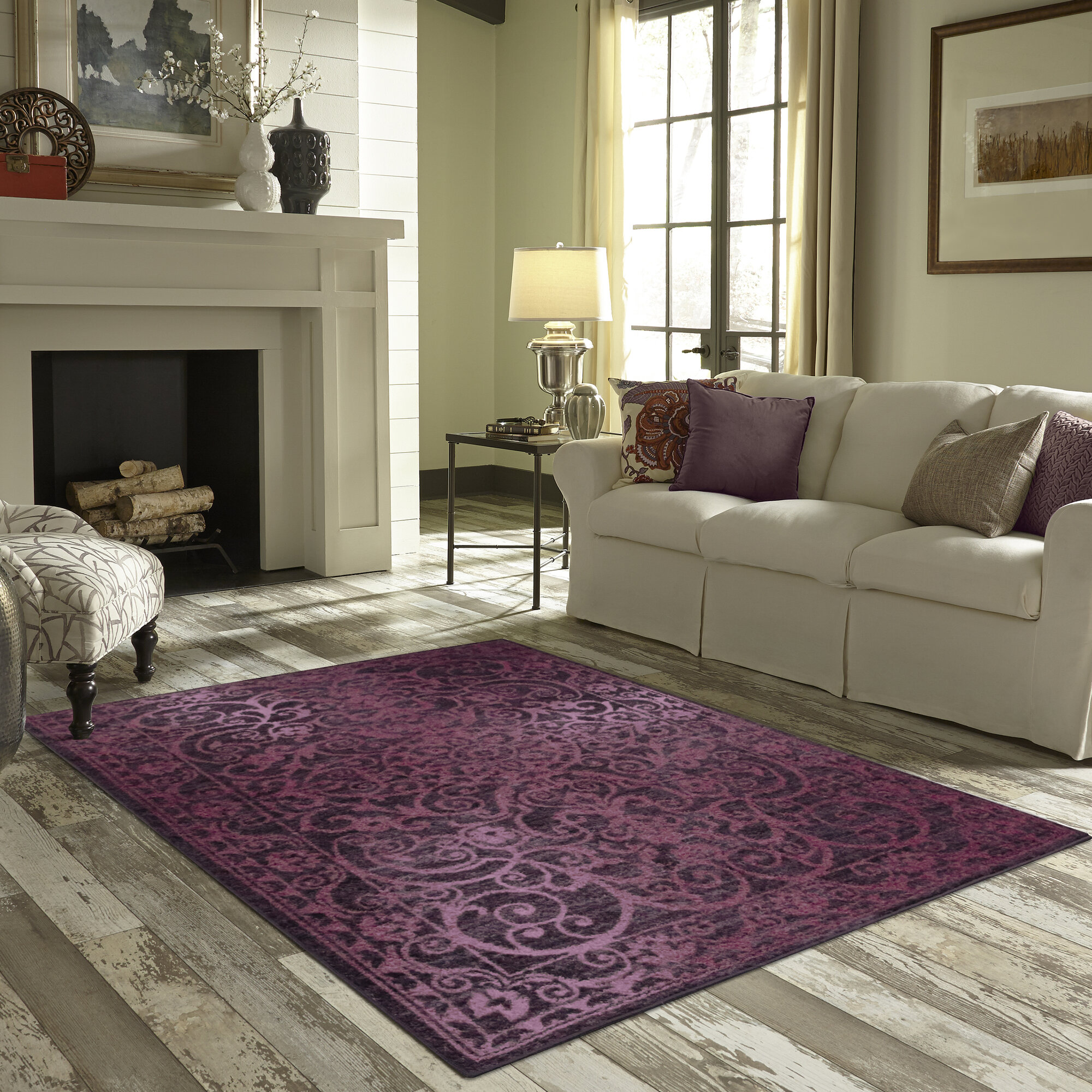 Maples Rugs Hudson Purple Area Rug Ebay