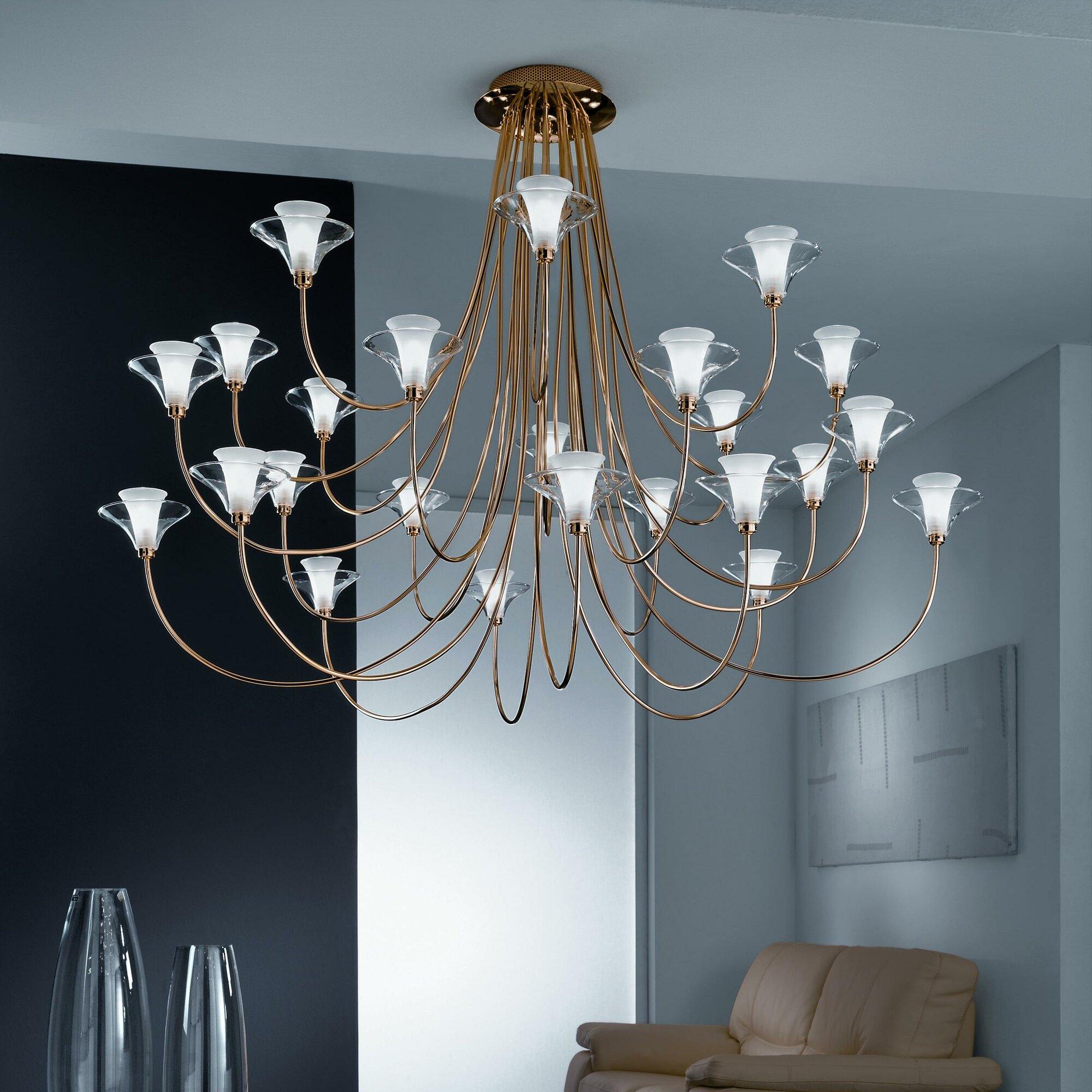Metal Lux Free Spirit 24 Light Chandelier eBay