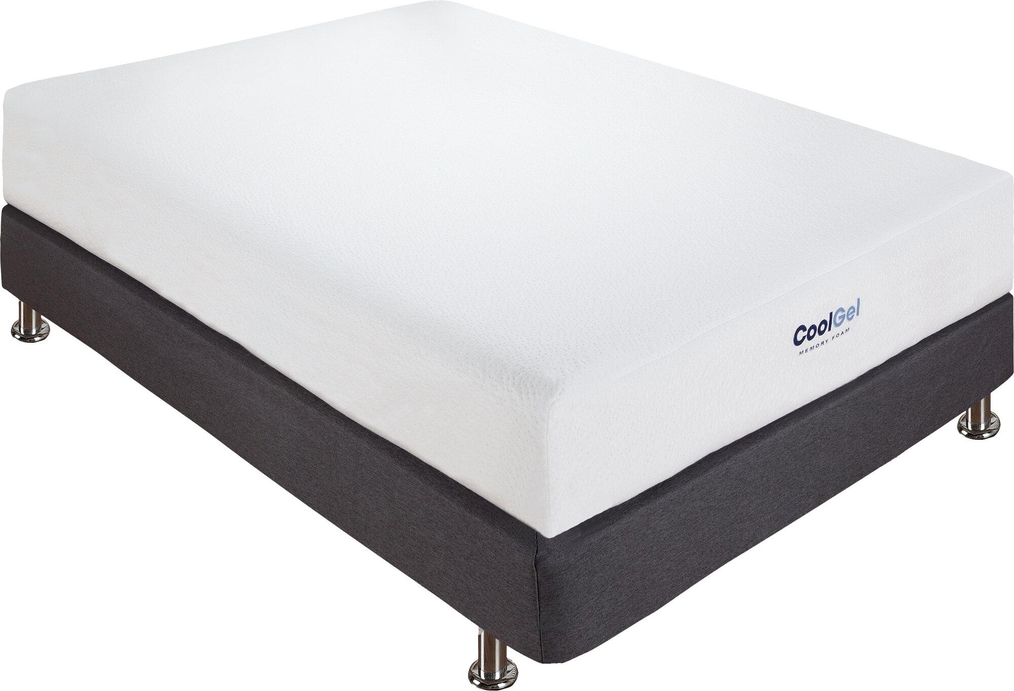 alwyn home 8 firm gel memory foam mattress ebay. Black Bedroom Furniture Sets. Home Design Ideas