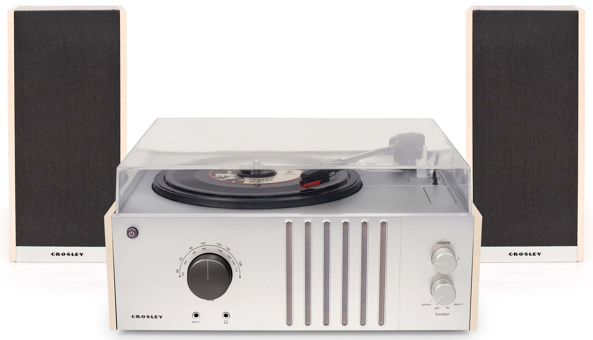Crosley Electronics Player With Detachable Speakers Ebay
