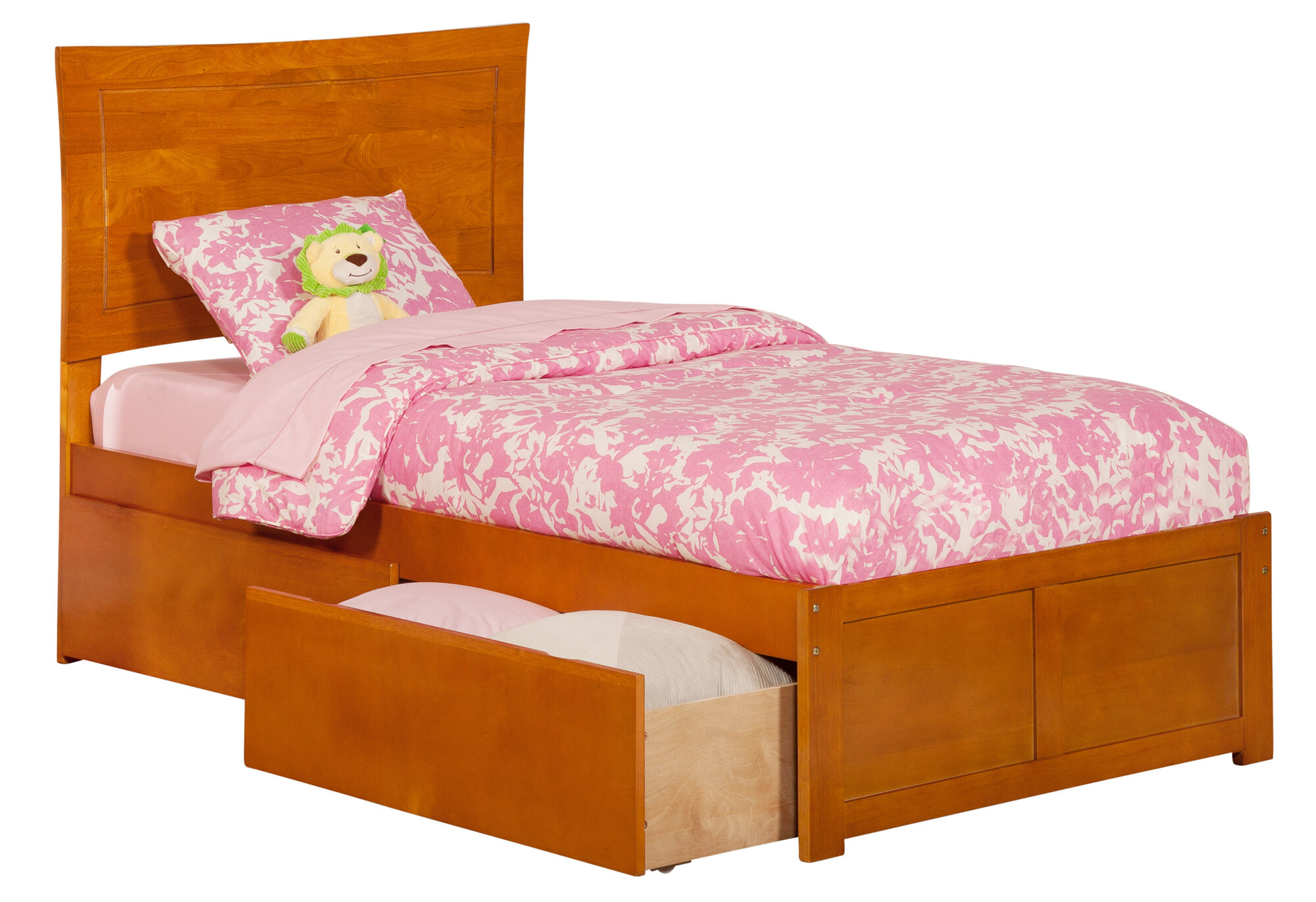 Atlantic Furniture Metro Extra Long Twin Platform Bed Ebay