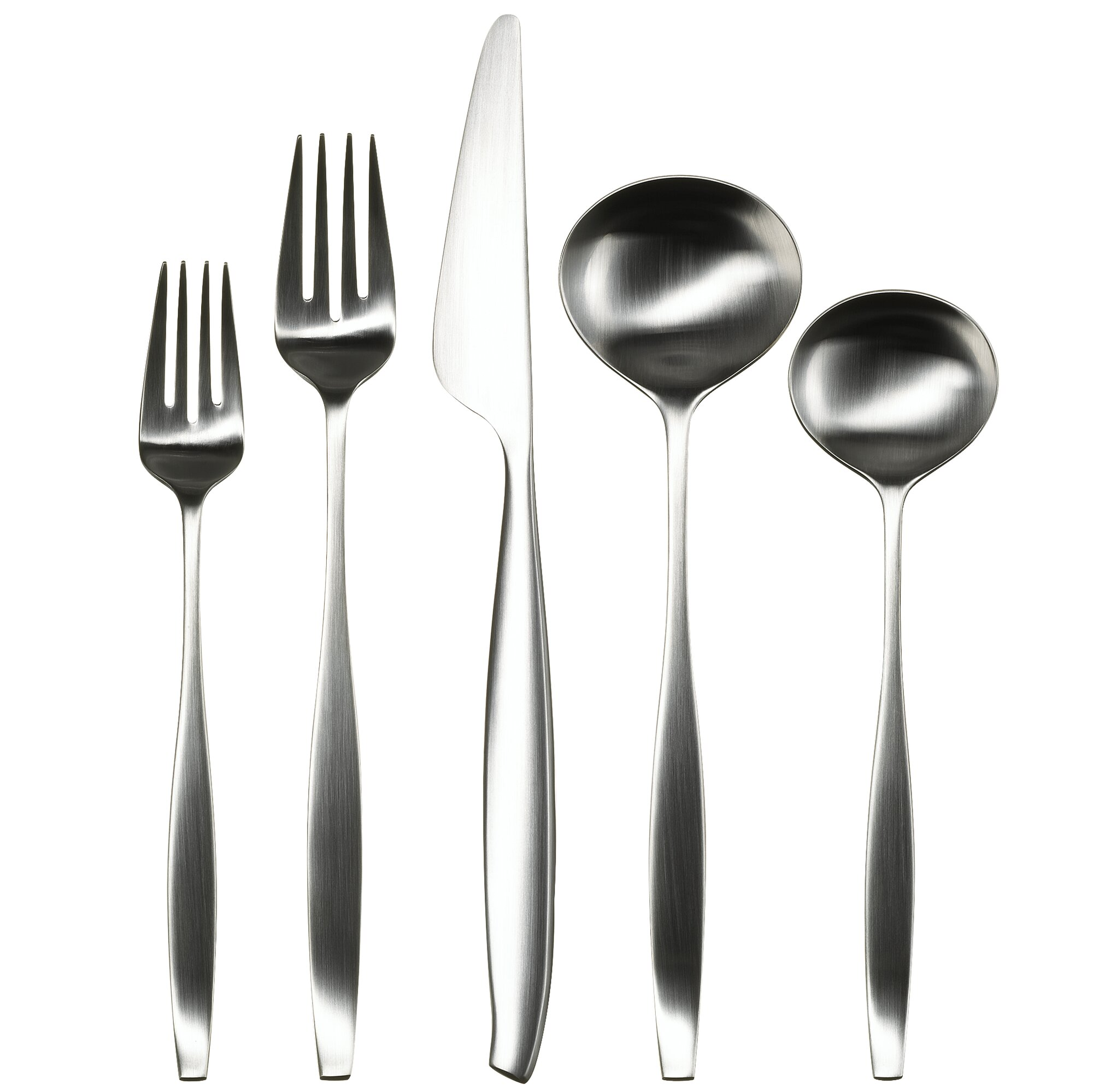 Gourmet settings everyday 20 piece balance flatware set - Gourmet settings silverware ...