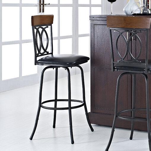 linon adjustable height bar stool set of 3 ebay. Black Bedroom Furniture Sets. Home Design Ideas