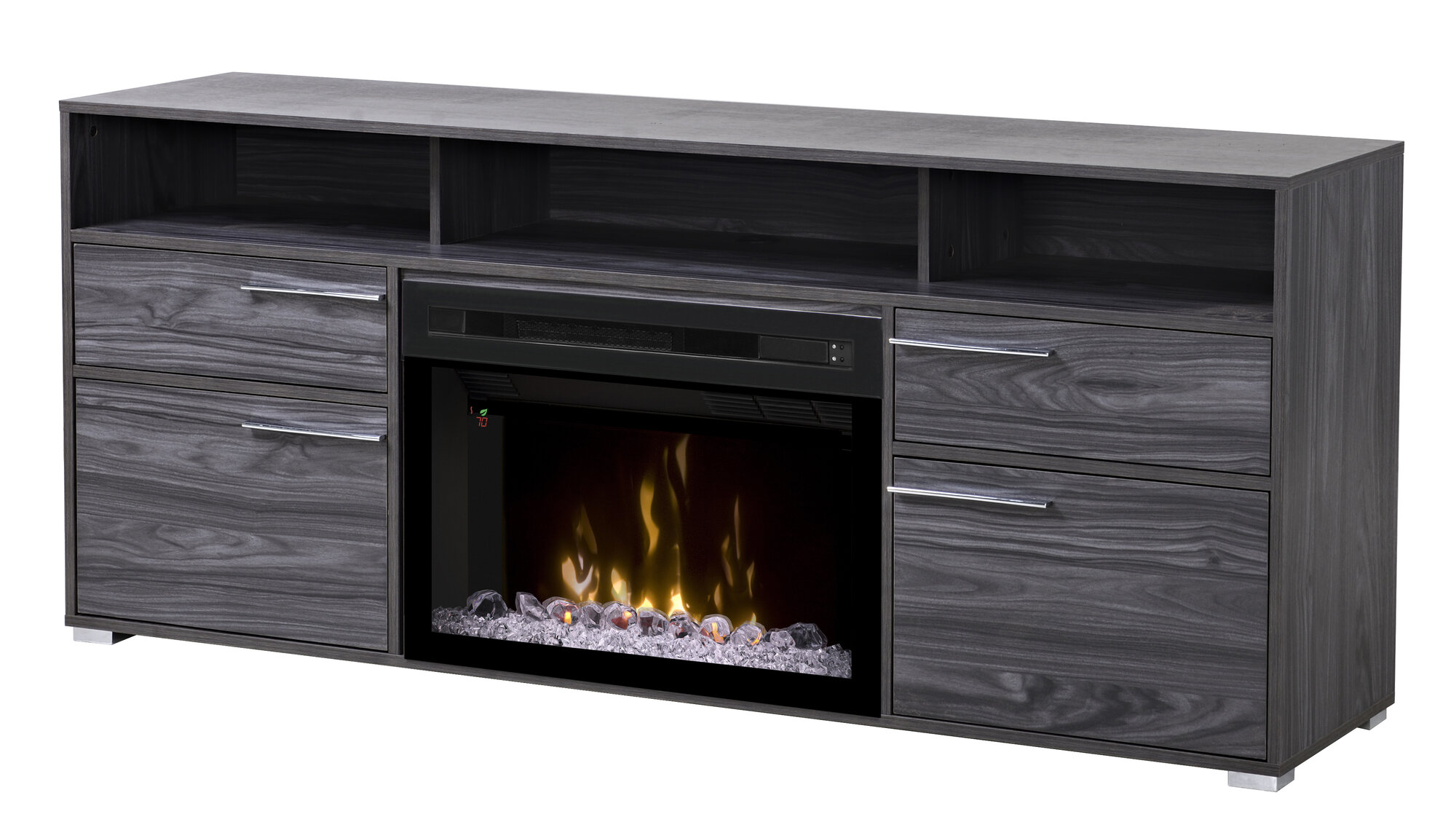 Dimplex Sander Tv Stand With Electric Fireplace
