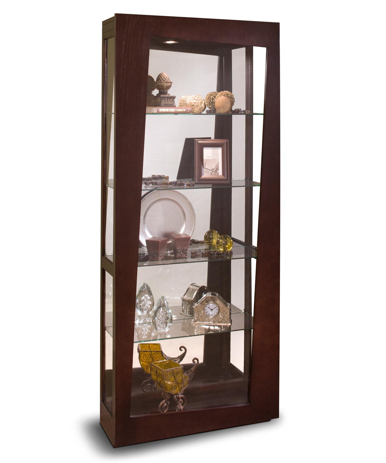 Philip Reinisch Co Lynx Curio Cabinet