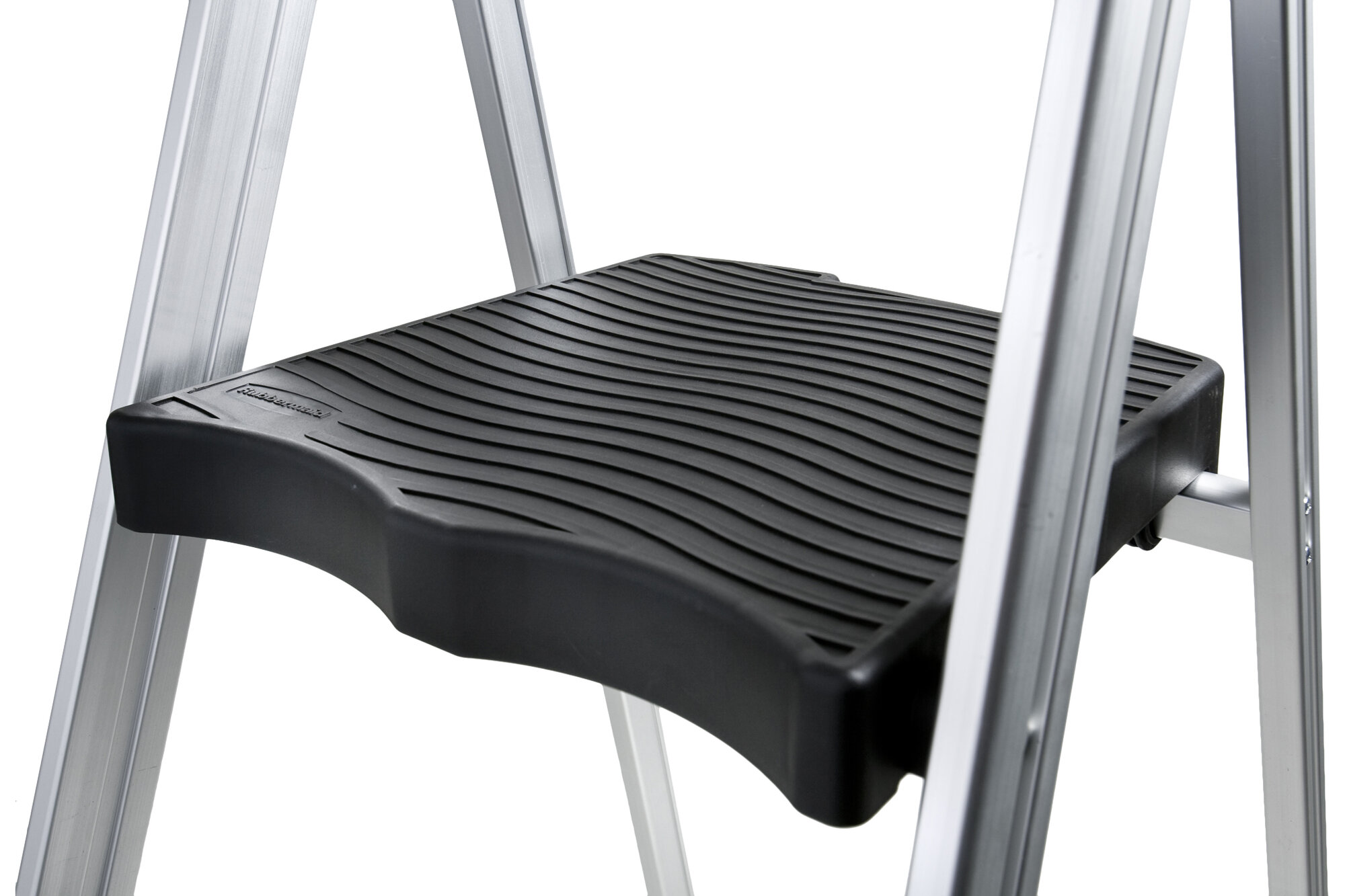 Rubbermaid 3 Step Aluminum Ultra Light Step Stool With 225