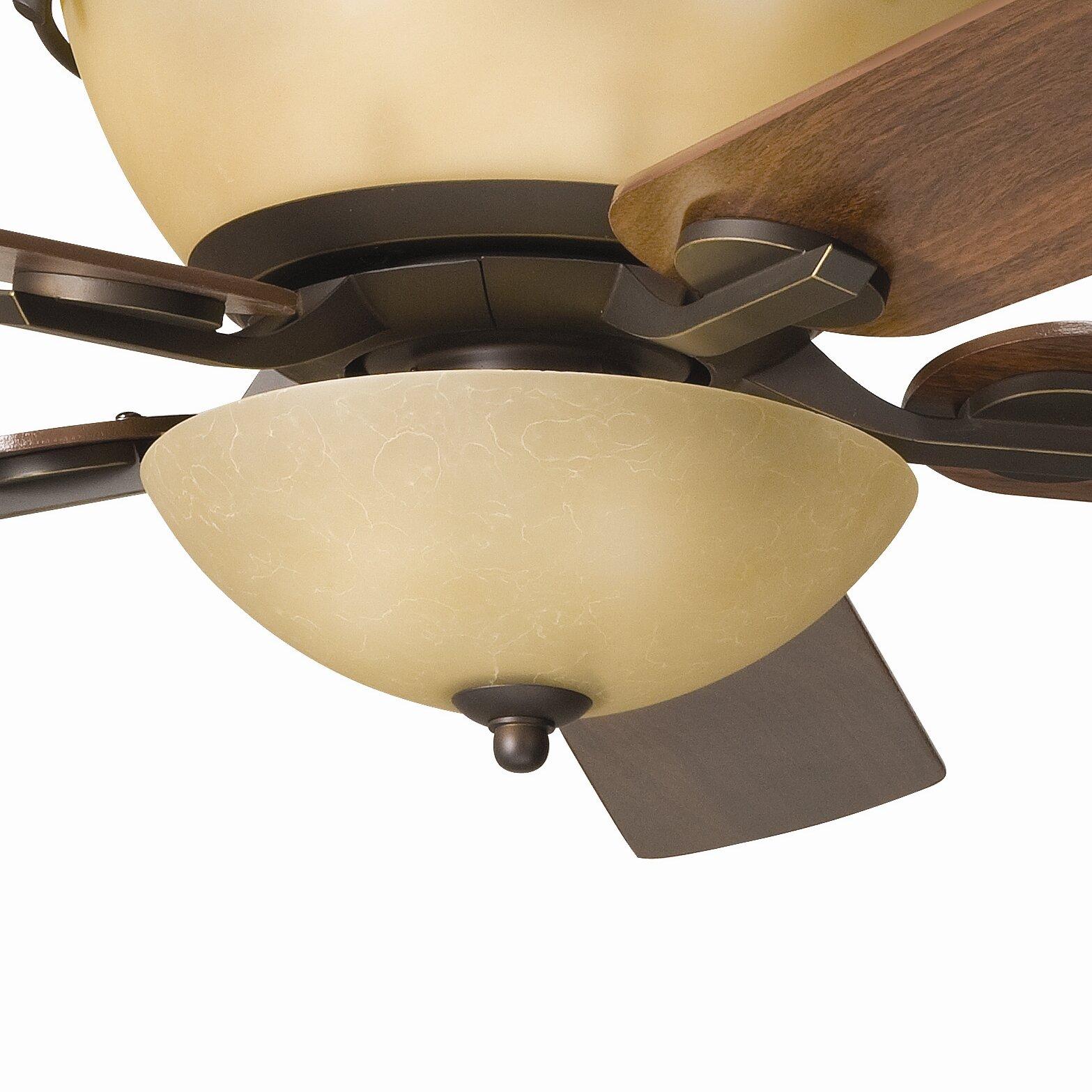 Kichler Olympia 3 Light Bowl Ceiling Fan Light Kit
