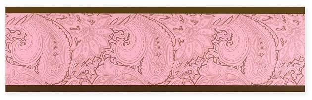 pink wallpaper border