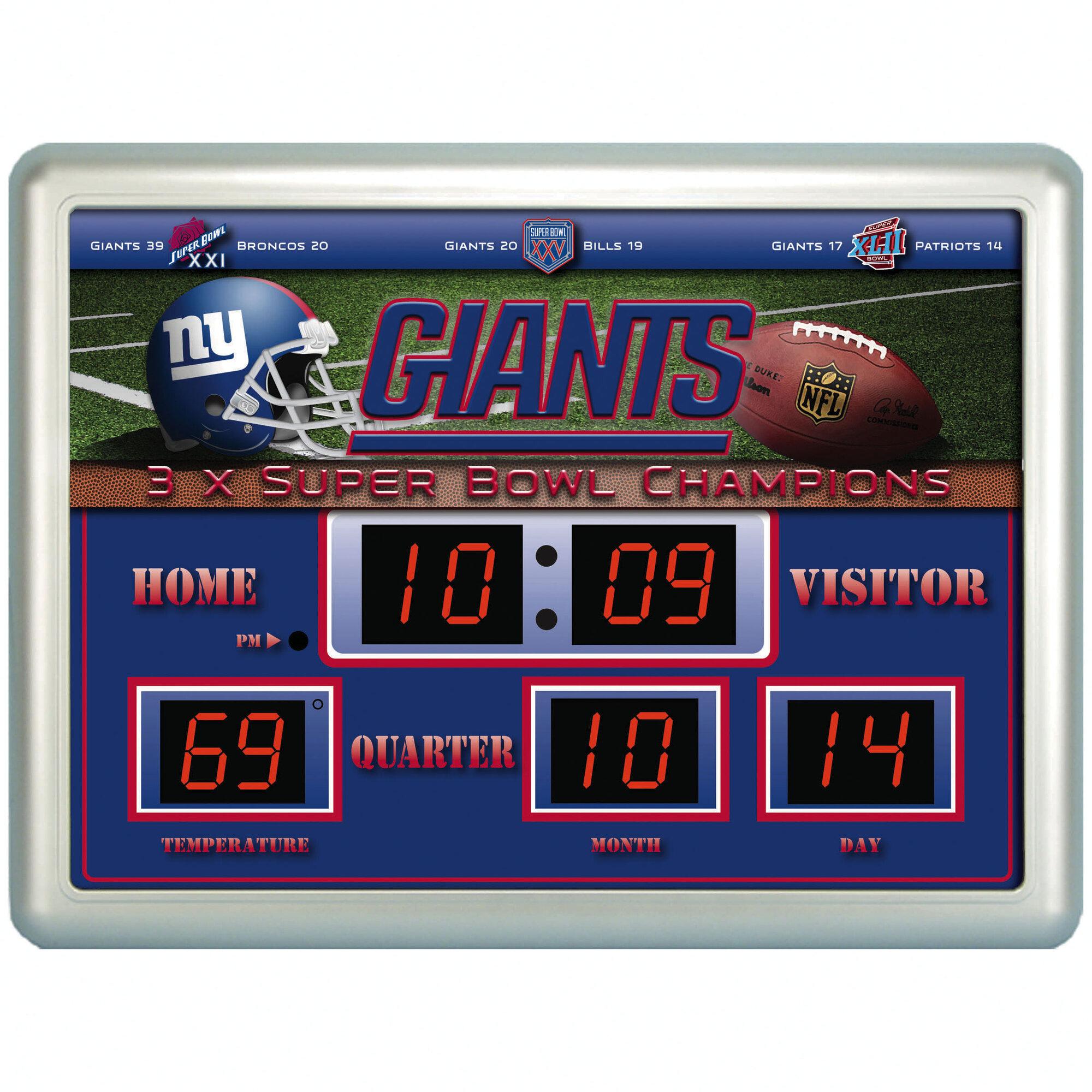 Nfl Scoreboard Clock