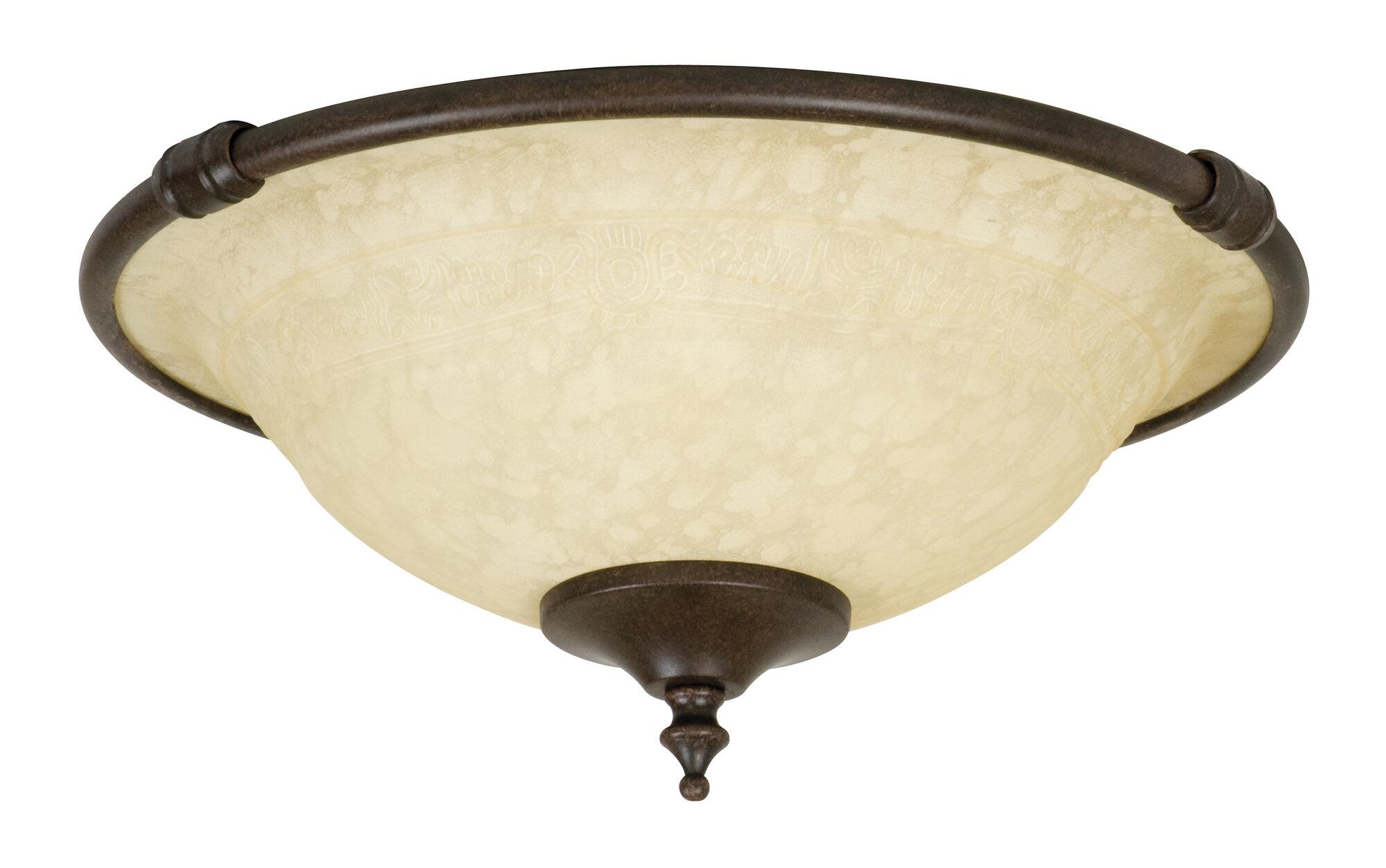 Craftmade Economy 2 Light Bowl Ceiling Fan Light Kit
