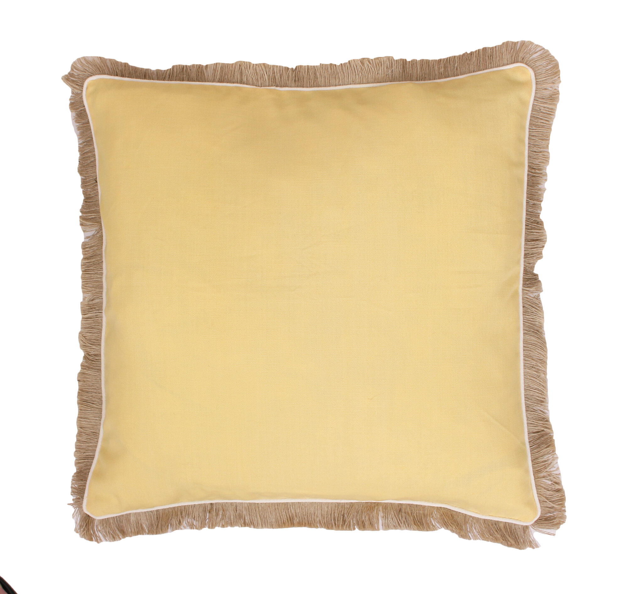 Throw Pillow Trim : Thro by Marlo Lorenz Fringe Welt and Raffia Trim Throw Pillow eBay