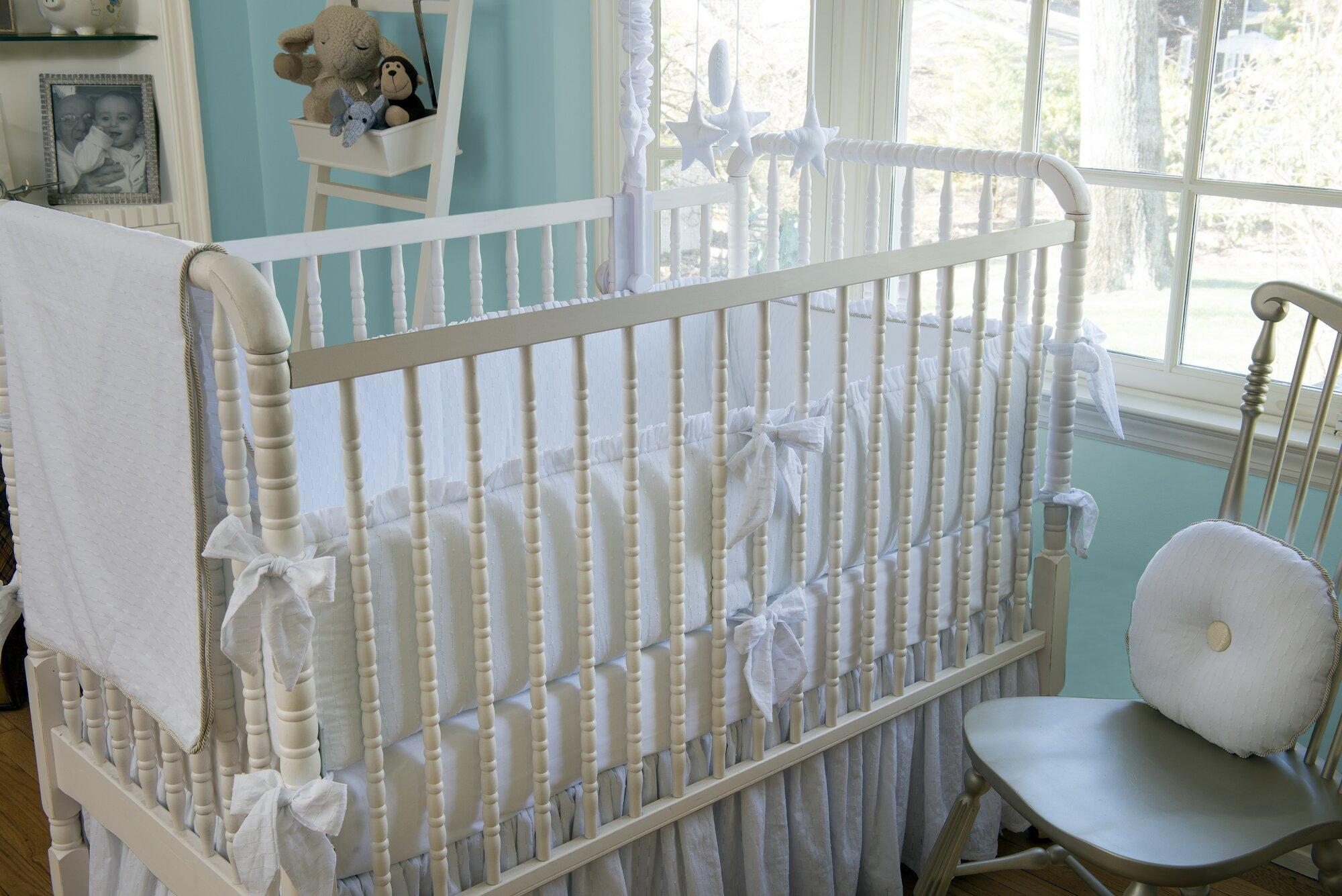 Bebe Chic Stella 3 Piece Crib Bedding Set