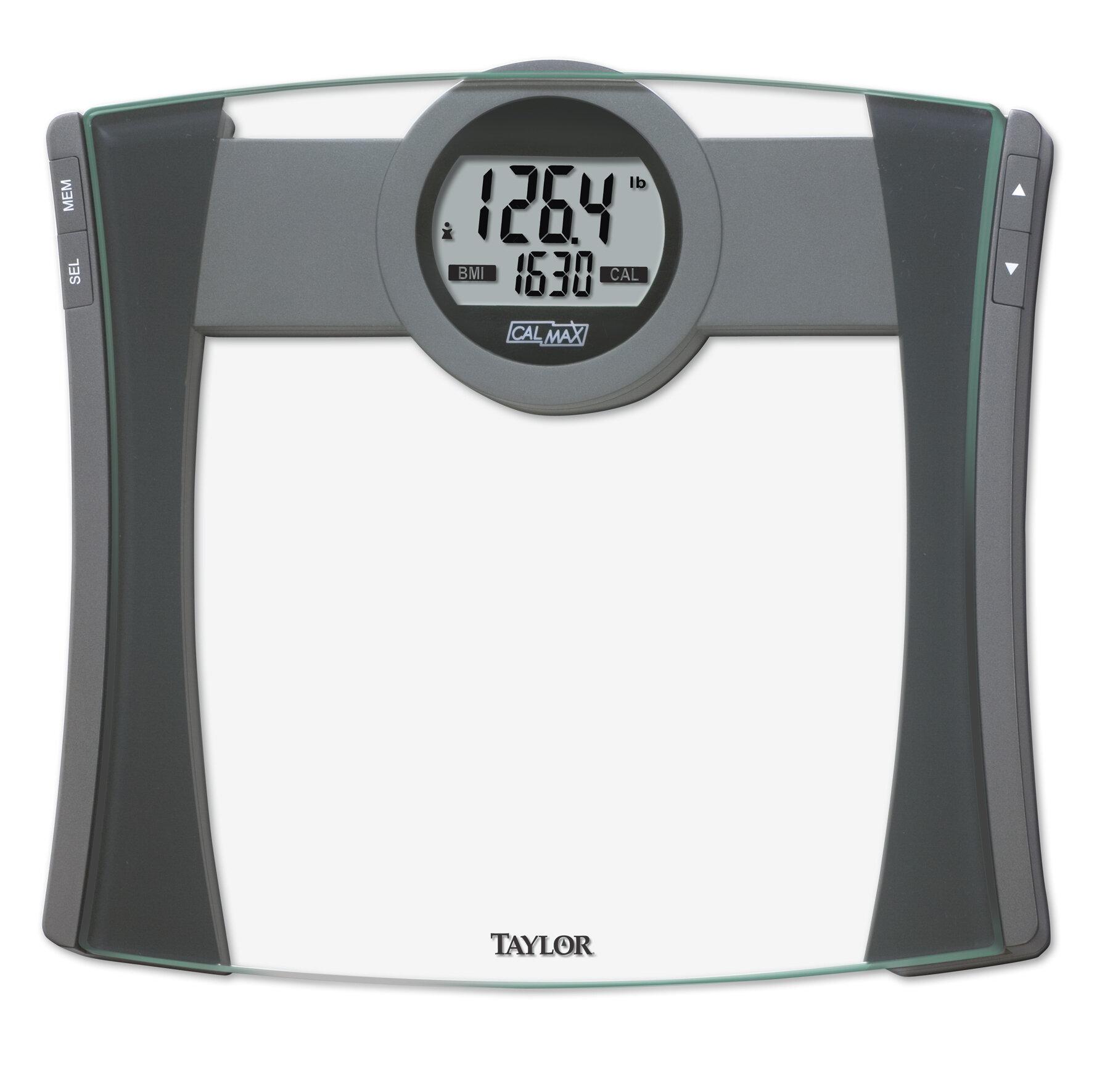 Bathroom Digital Scales: Taylor Digital Bath Scale TYR1405