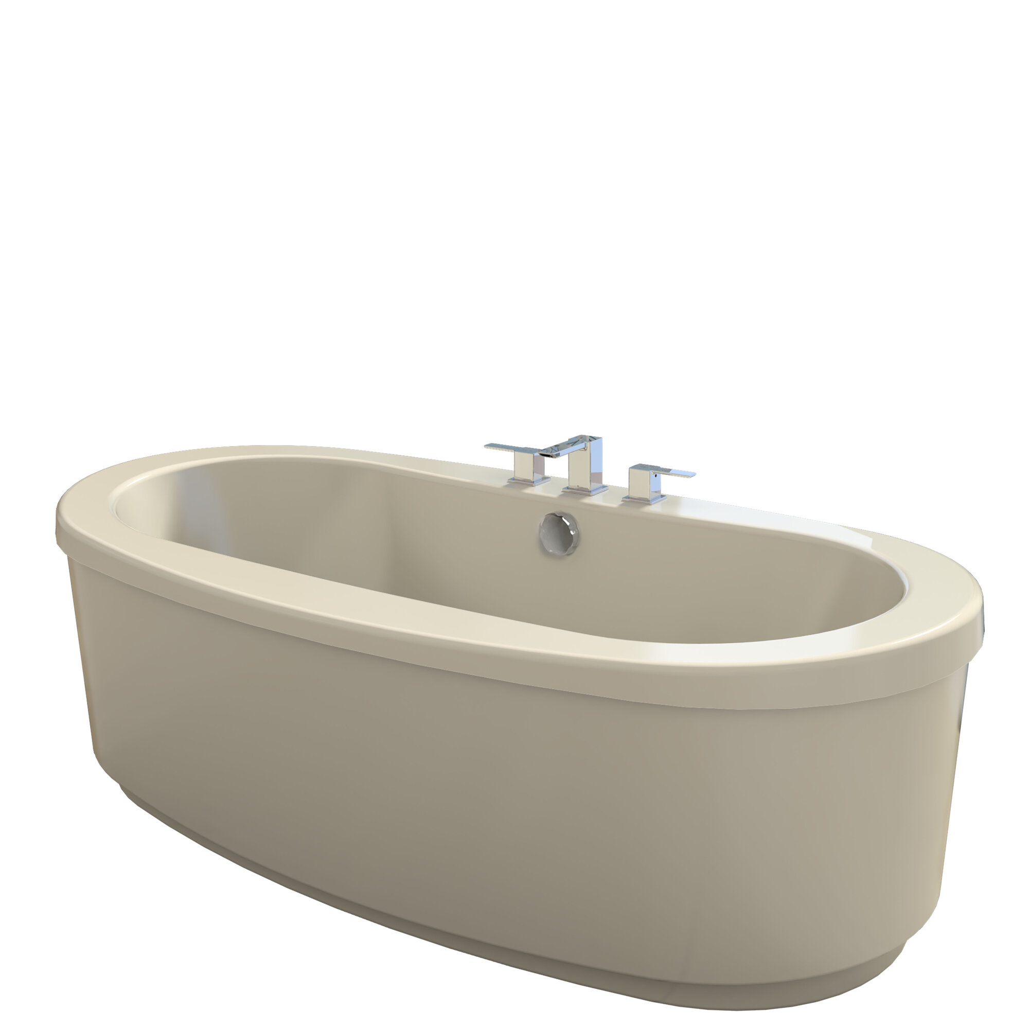Jacuzzi 174 Bravo 66 Quot X 36 Quot Air Whirlpool Bathtub Ebay