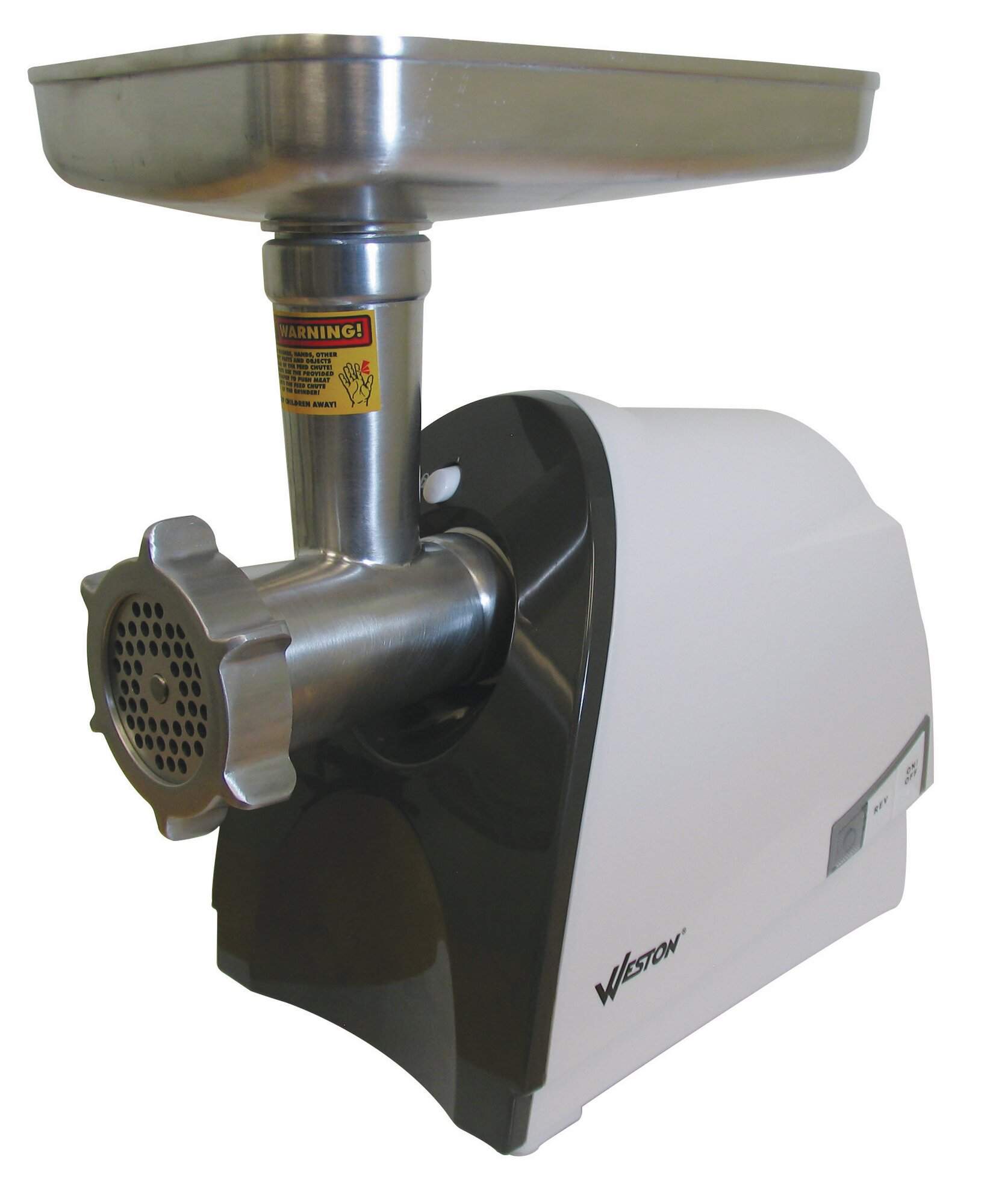Electric Meat Grinders For Home Use ~ Weston heavy duty watt electric meat grinder