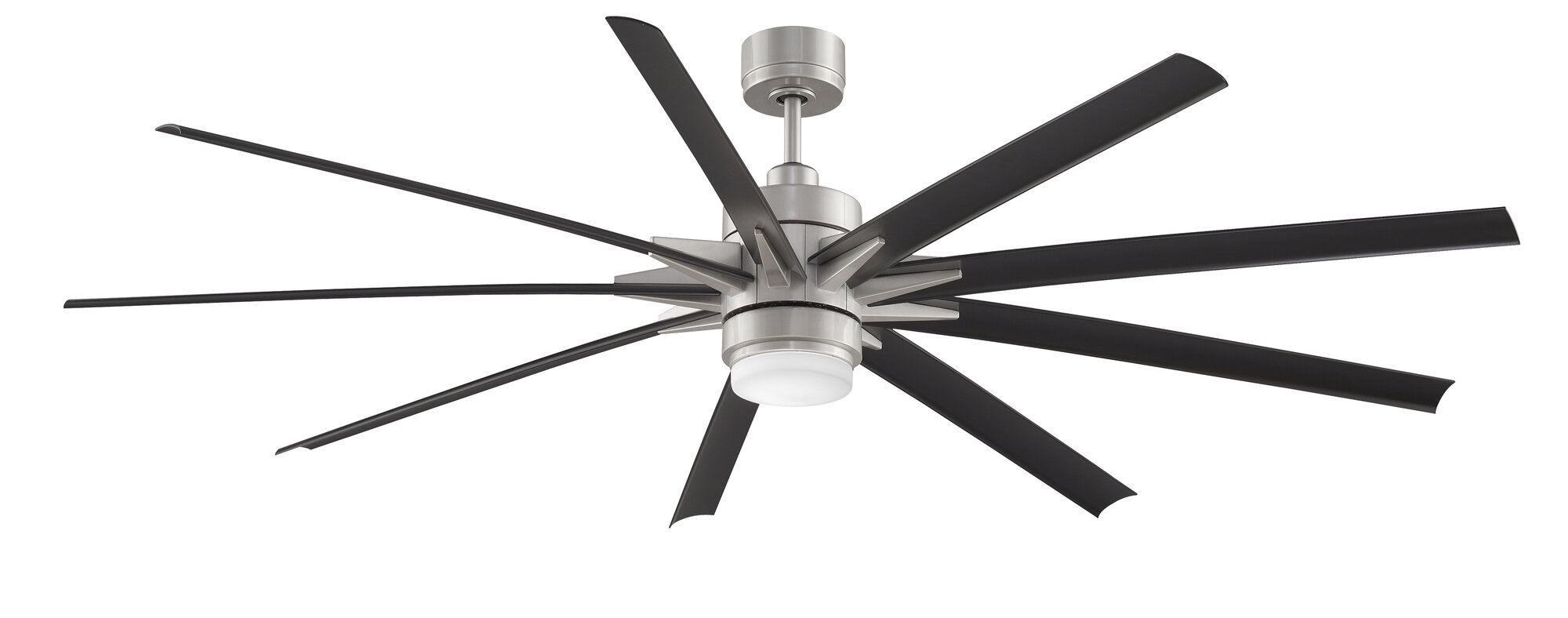 Fanimation 84 Quot Odyn 9 Blade Ceiling Fan With Remote Ebay