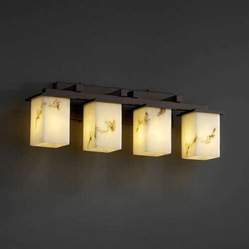 Justice Vanity Lights : Justice Design Group LumenAria Montana 4 Light Bath Vanity Light eBay