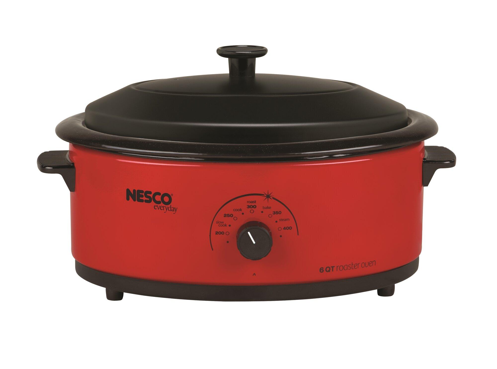 Nesco 481612 6 Quart Roaster Oven