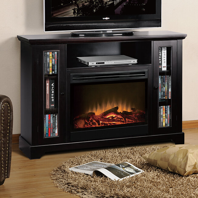 American Furniture Classics 55 Tv Stand With Electric Fireplace Ebay