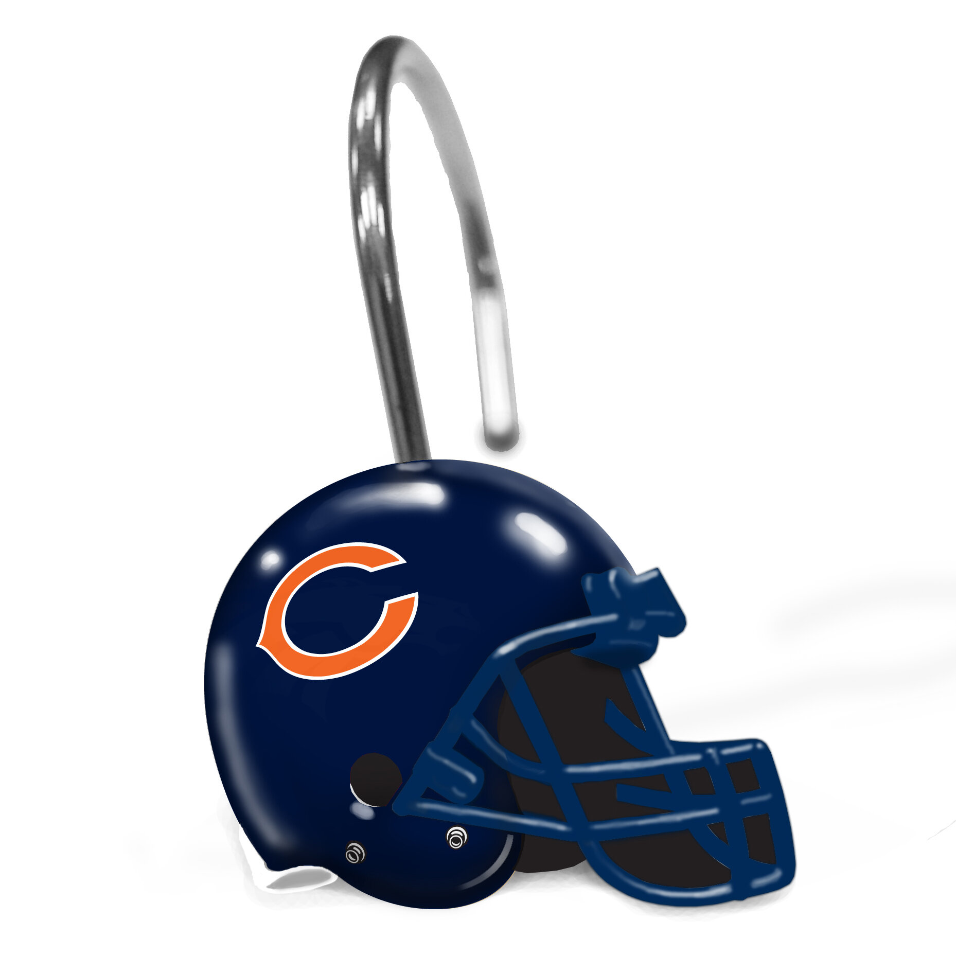 Details about Northwest Co. NFL Helmet Shower Curtain Rings