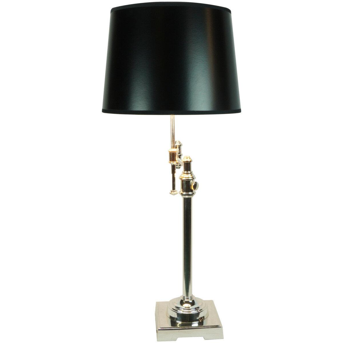 Laura Ashley Lighting State Street Shiny 23 Table Lamp EBay