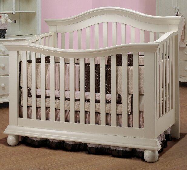 sorelle vista couture 2 in 1 convertible crib. Black Bedroom Furniture Sets. Home Design Ideas