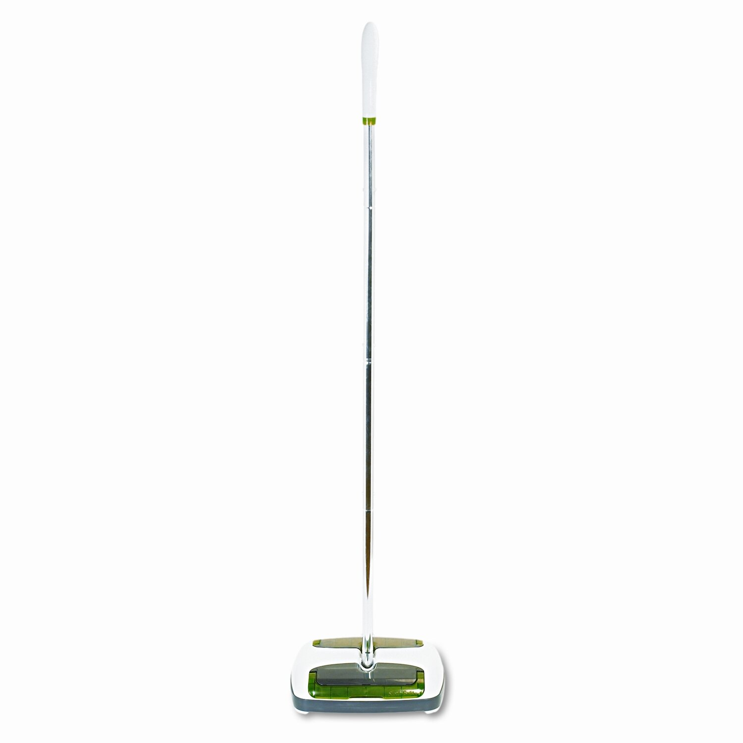 "SCOTCH-BRITE Scotch Brite Quick Floor Sweeper, Rubber Bristles, 42"" Aluminum Handle, White                                                 - MMMM007CCW"