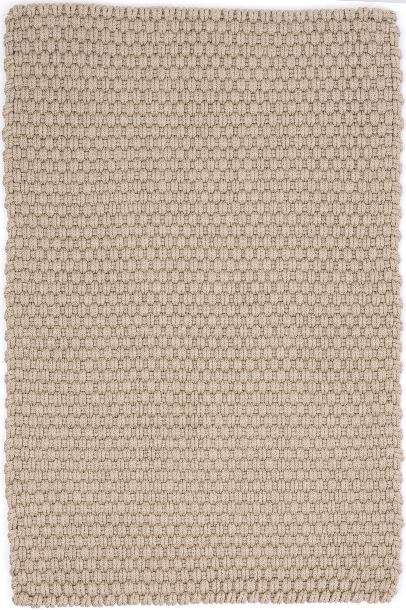 Dash and Albert Rugs Rope Platinum Indoor/Outdoor Area Rug Rug Size: SAMPLE: 12