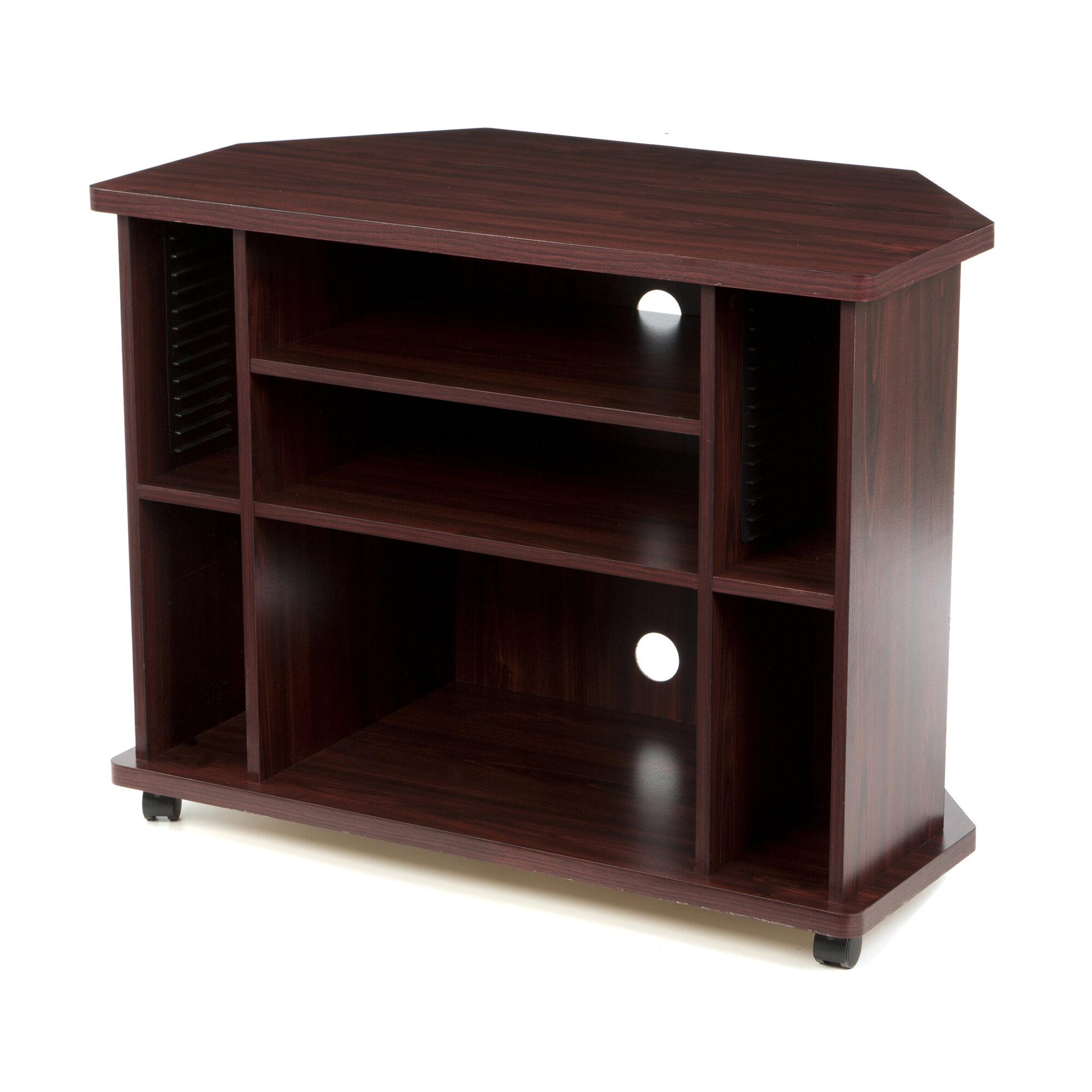 home source industries 35 034 corner tv stand ebay. Black Bedroom Furniture Sets. Home Design Ideas