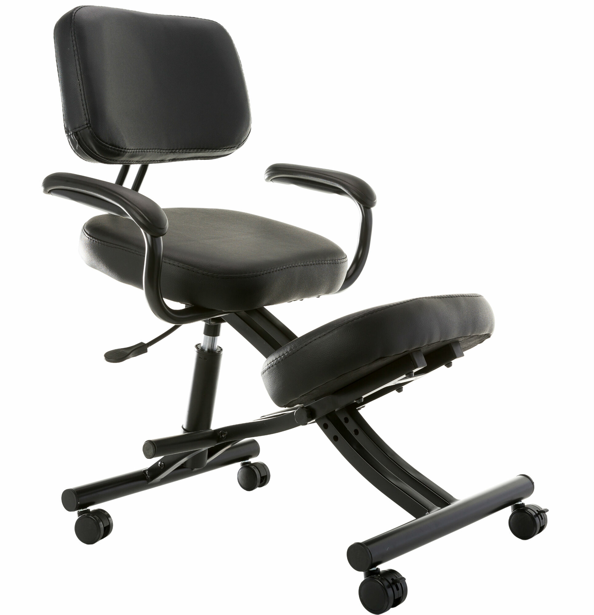 Sierra Comfort Ergonomic Low Back Kneeling Chair