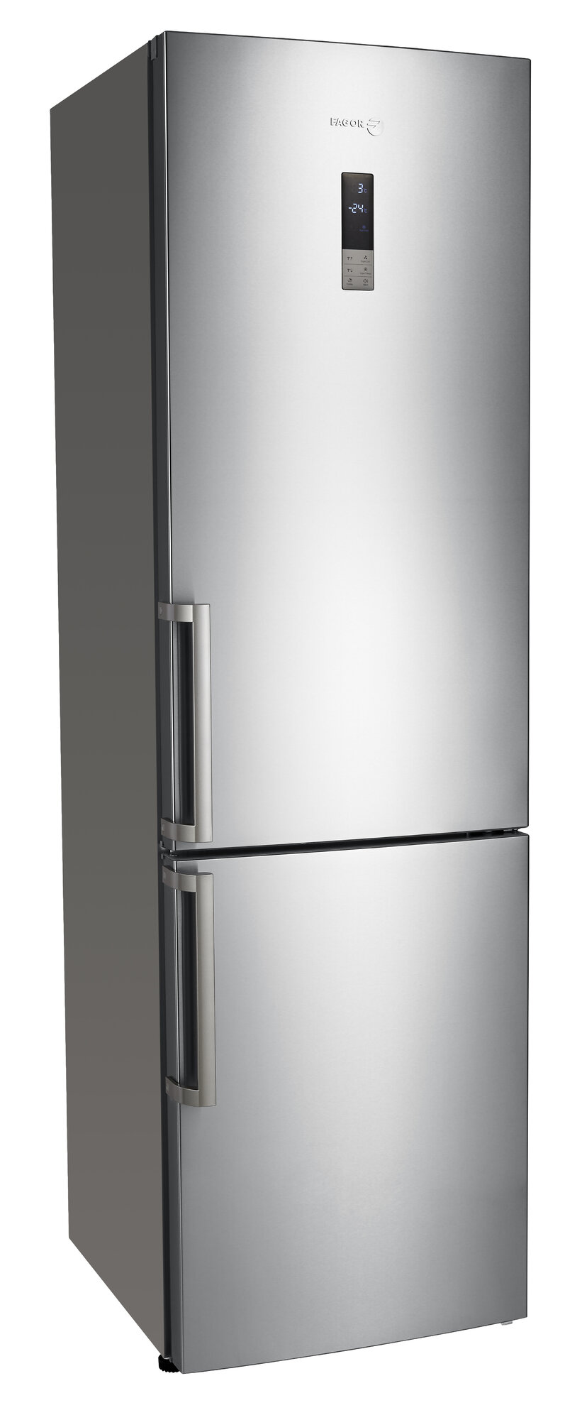 fagor 13 3 cu ft counter depth bottom freezer refrigerator. Black Bedroom Furniture Sets. Home Design Ideas
