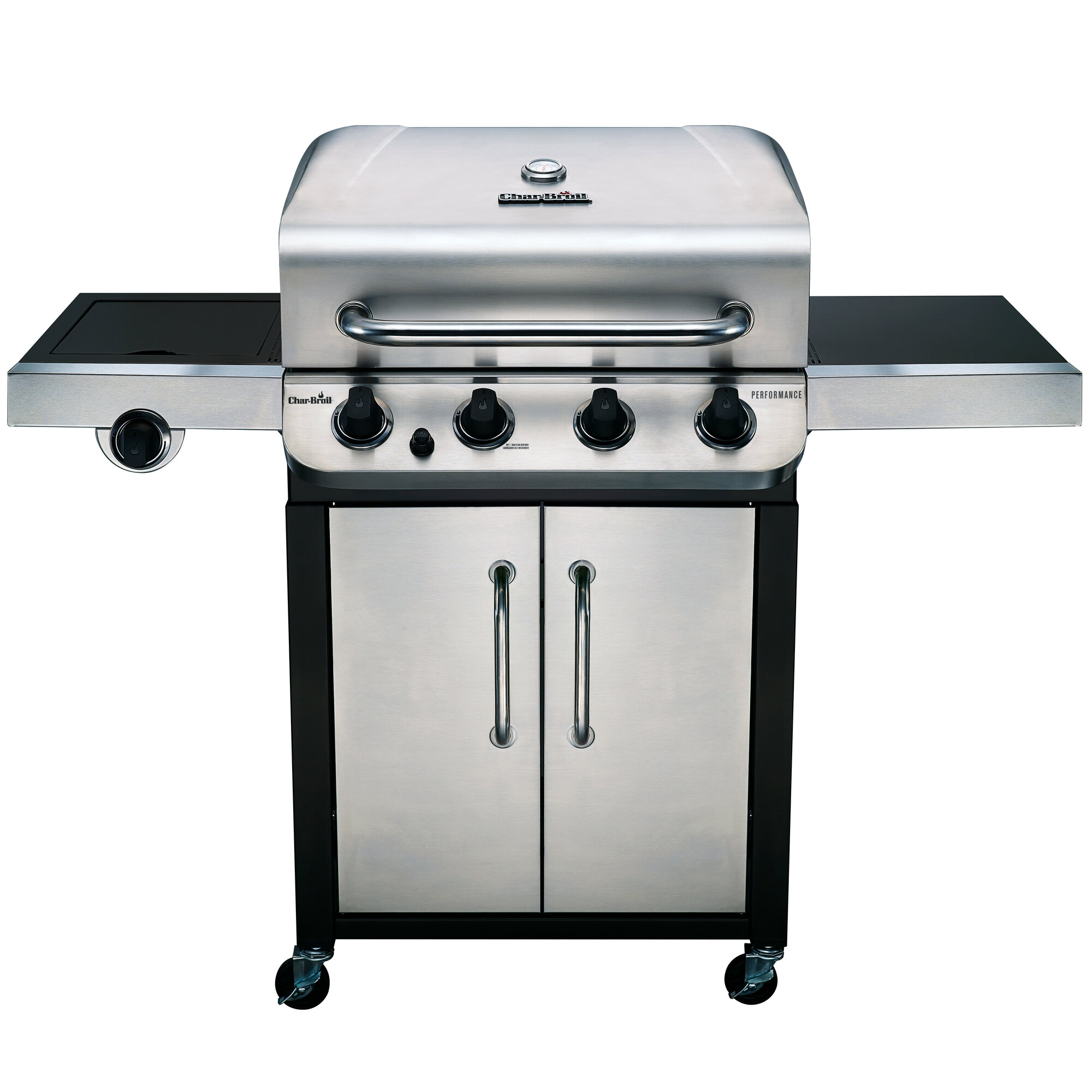 Char Broil Performance 4 Burner Propane Gas Grill With
