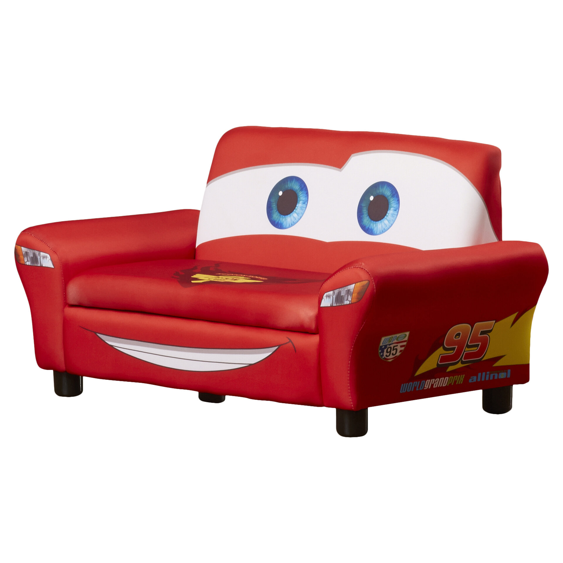 Delta Children Disney Pixar Cars Upholstered Sofa With