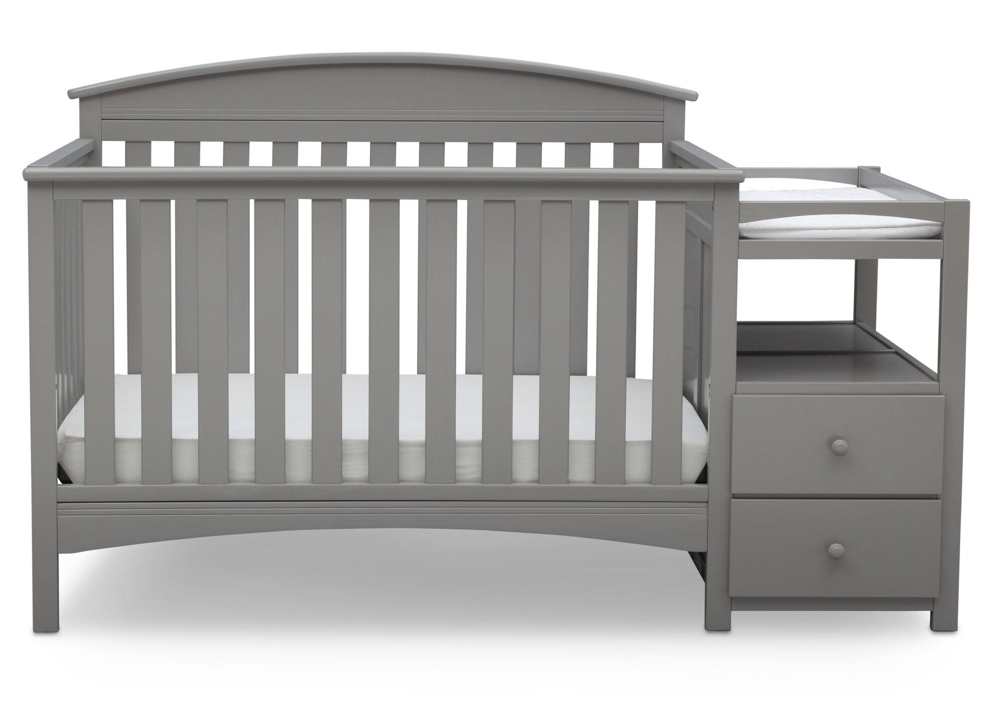 delta children abby 4 in 1 convertible crib and changer ebay