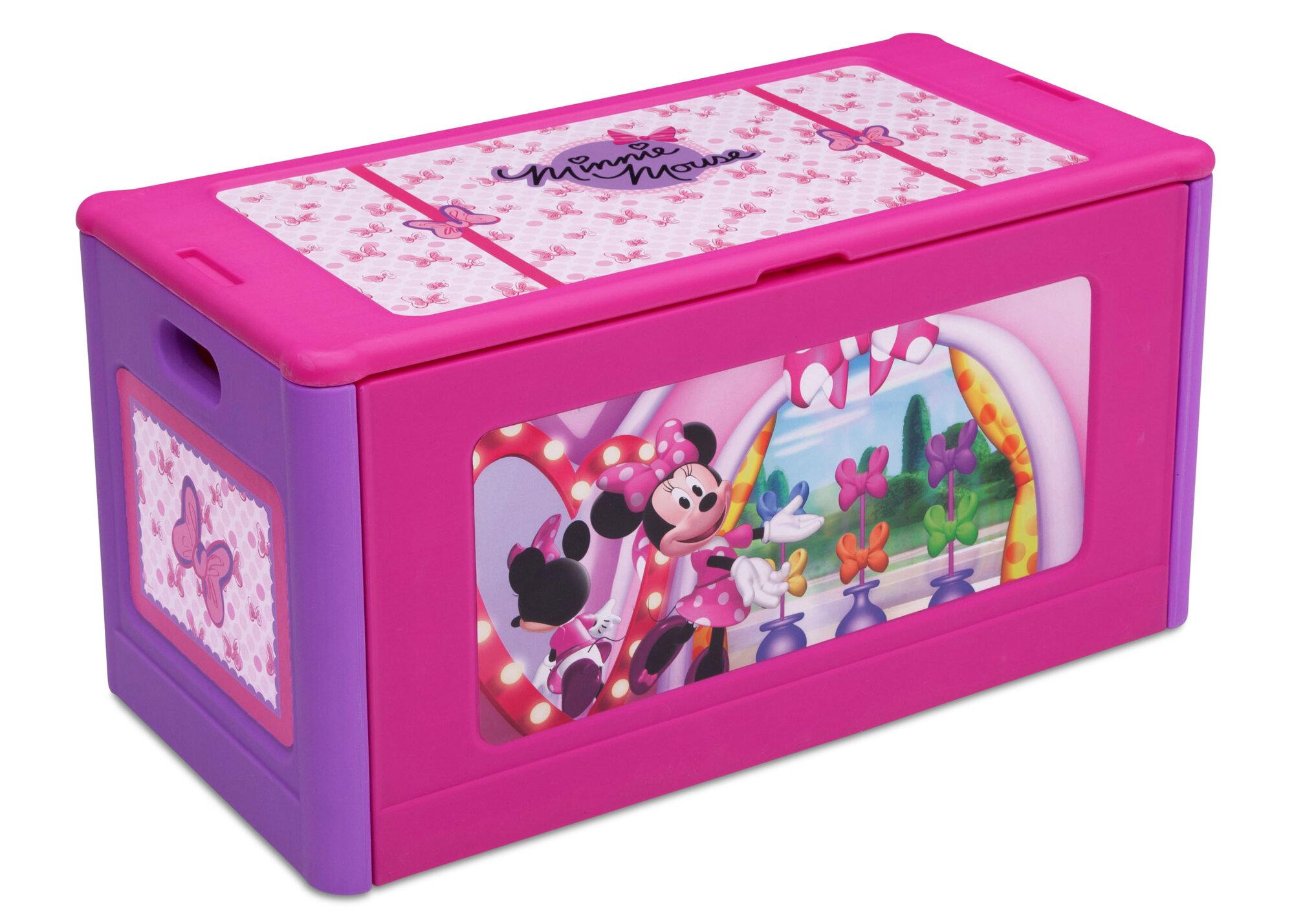 Minnie Mouse Toys : Delta children disney minnie mouse toy box ebay