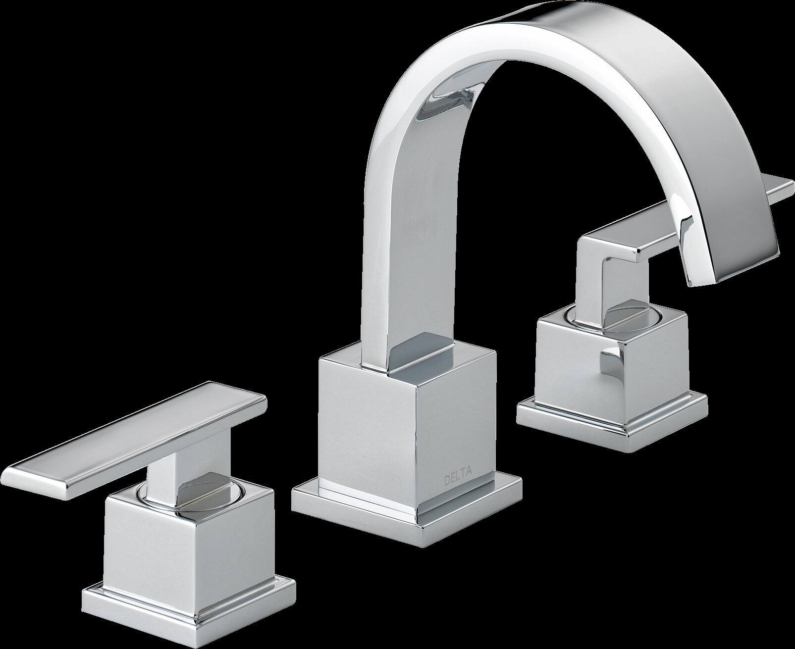 Delta Windemere B3596lf Double Handle Widespread Bathroom: Delta Vero Two Handle Widespread Bathroom Faucet