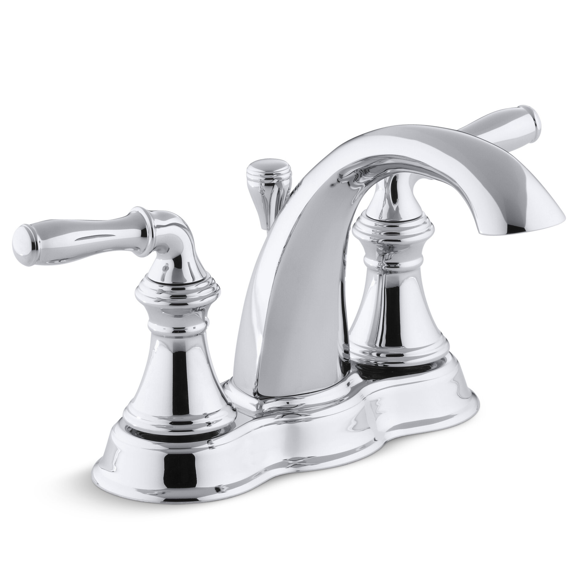 details about kohler devonshire centerset bathroom faucet with lever