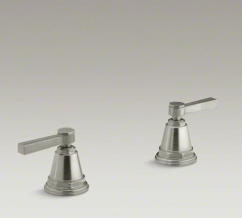 Kohler Pinstripe Deck Mount High Flow Bath Faucet With Lever Handles Ebay