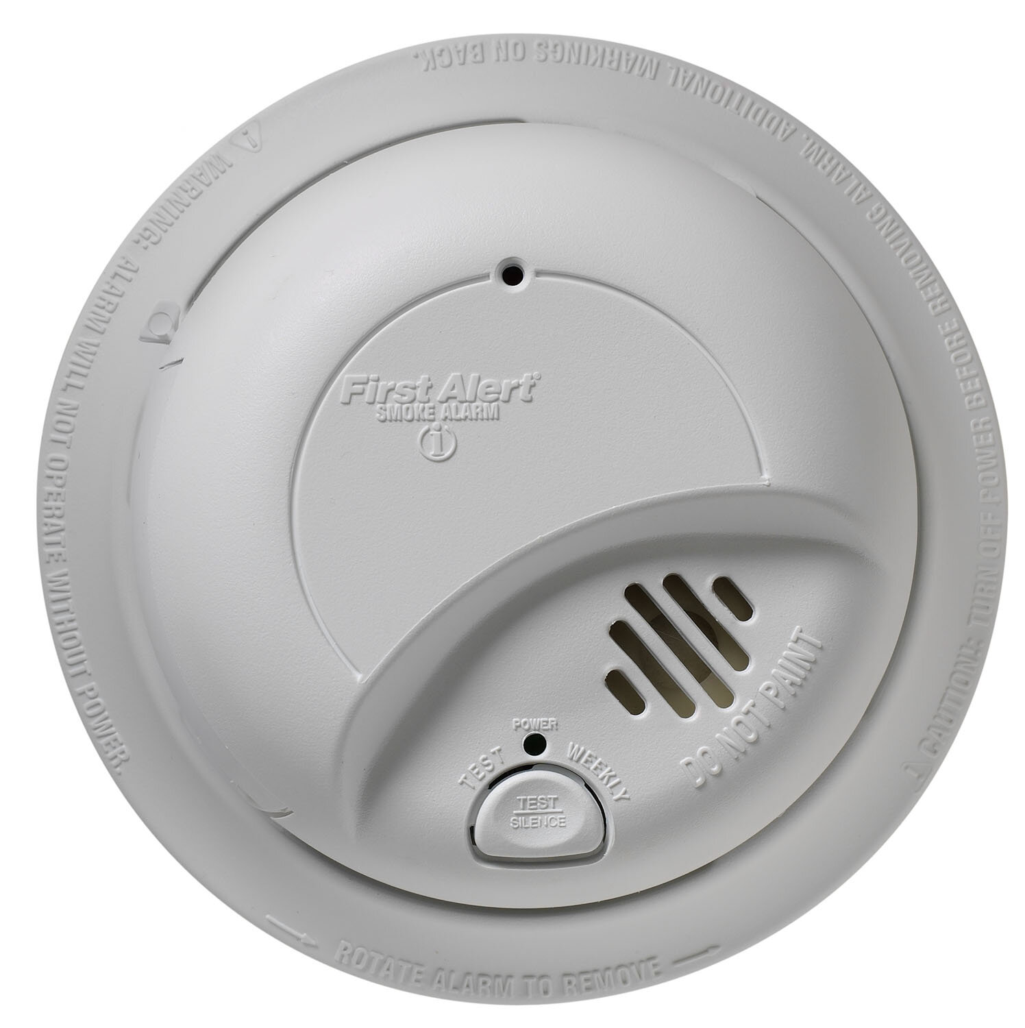 first alert hardwired smoke alarm with battery backup ebay. Black Bedroom Furniture Sets. Home Design Ideas