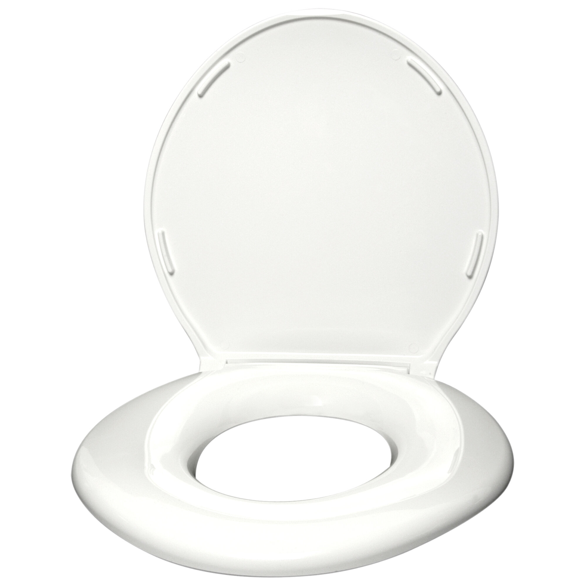 Big John Standard Closed Front Raised Toilet Seat With Cover