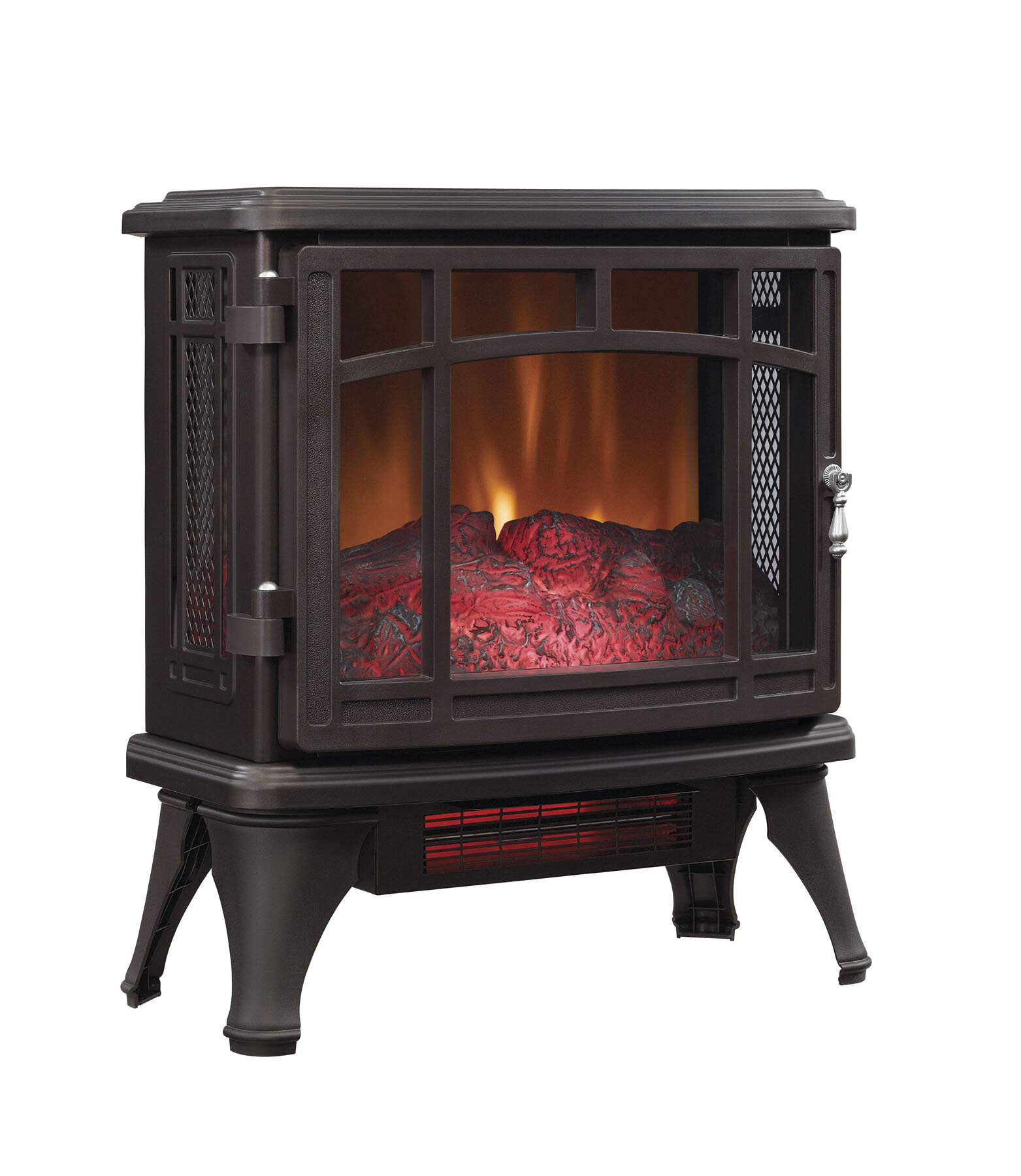 Duraflame 1500 Watt Portable Electric Infrared Cabinet Heater