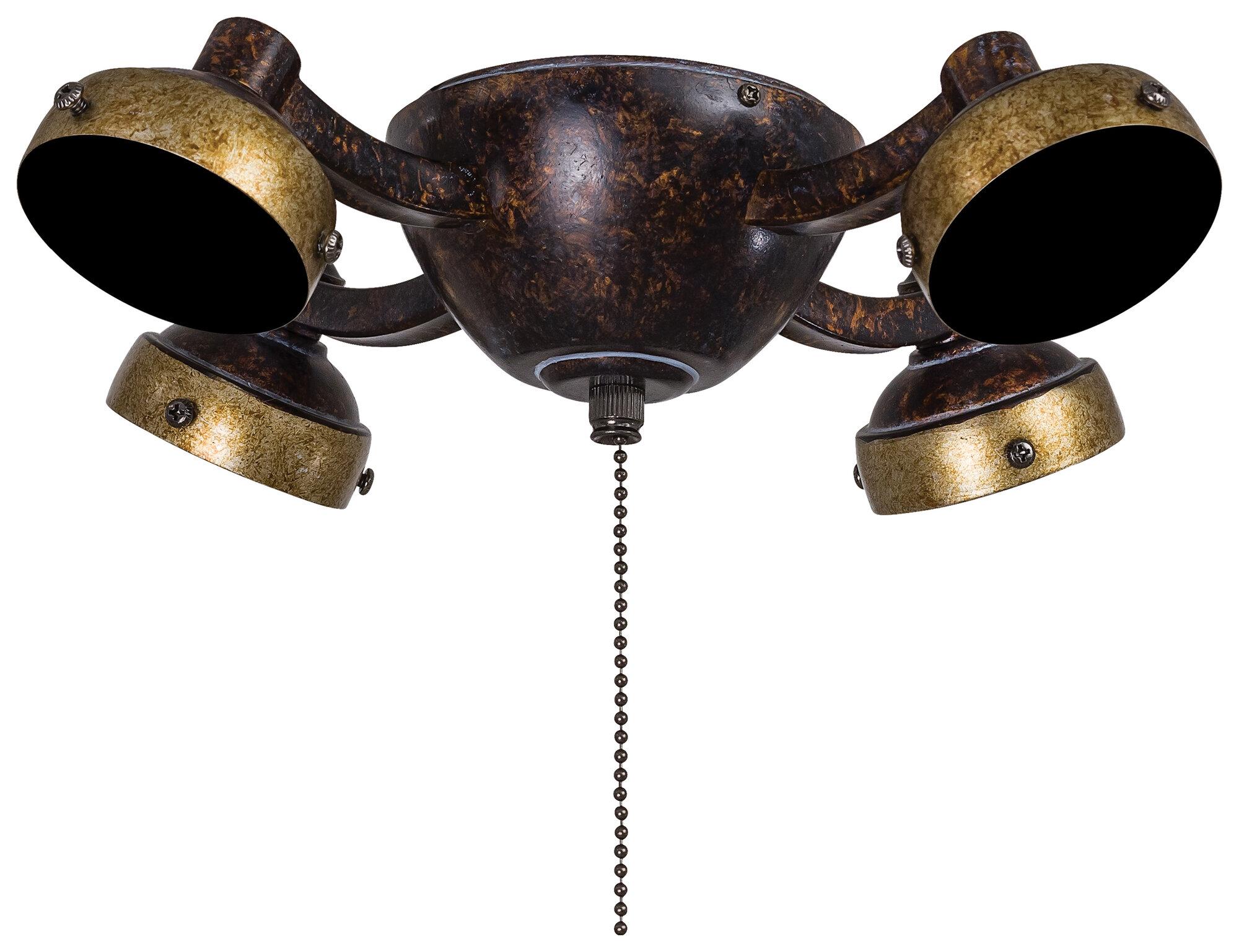 Minka Aire 4 Light Universal Ceiling Fan Light Kit Ebay