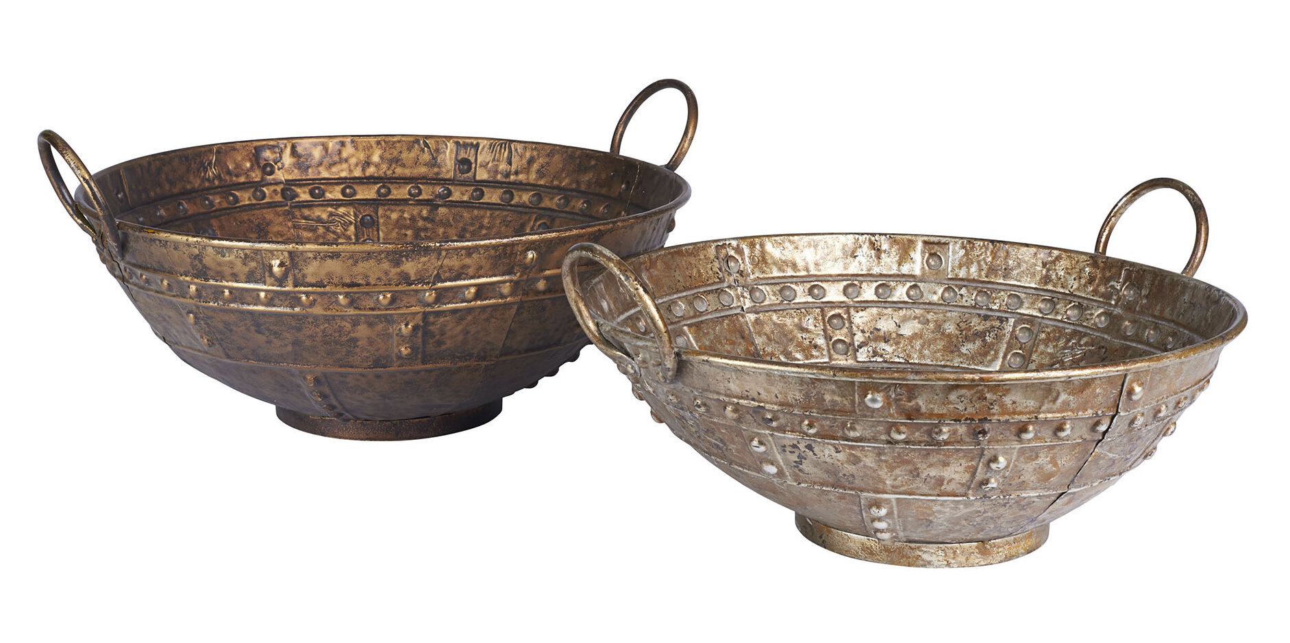 Household essentials metal large decorative bowl ebay