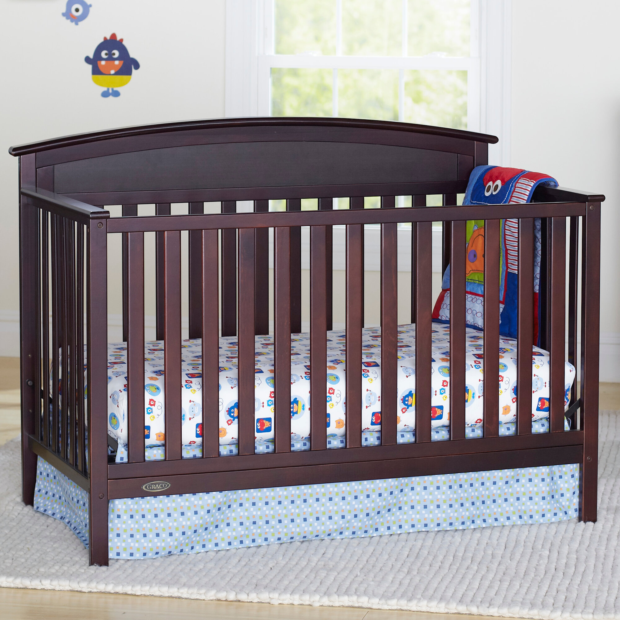 Graco 3 In 1 Convertible Crib: Graco Benton 3 In 1 Convertible Crib