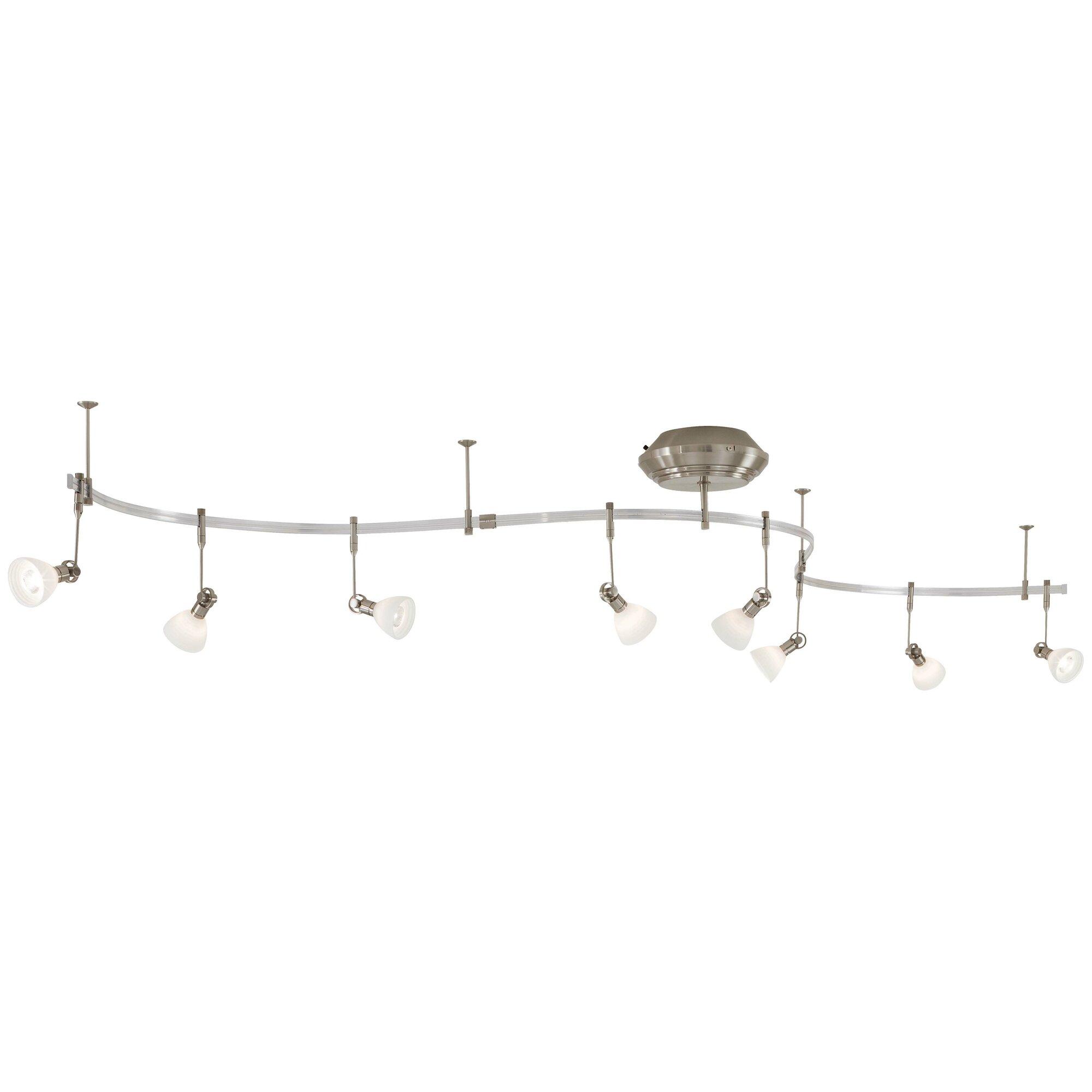 George Kovacs By Minka Lightrail 8 Full Track Lighting Kit EBay