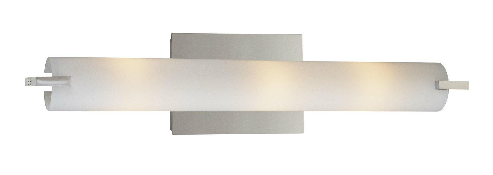 George Kovacs By Minka Tube 3 Light Vanity Light EBay